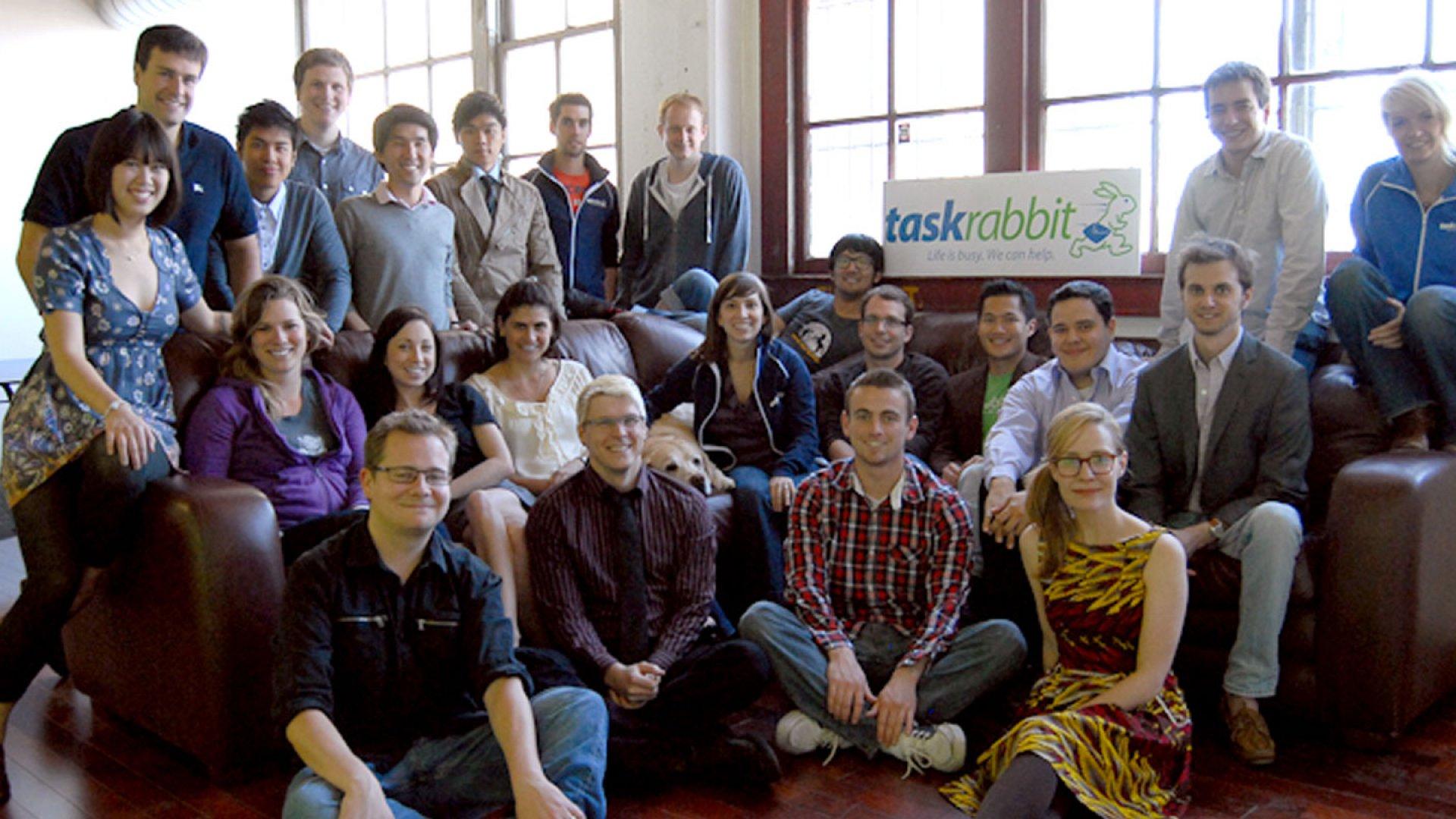 The team at TaskRabbit.
