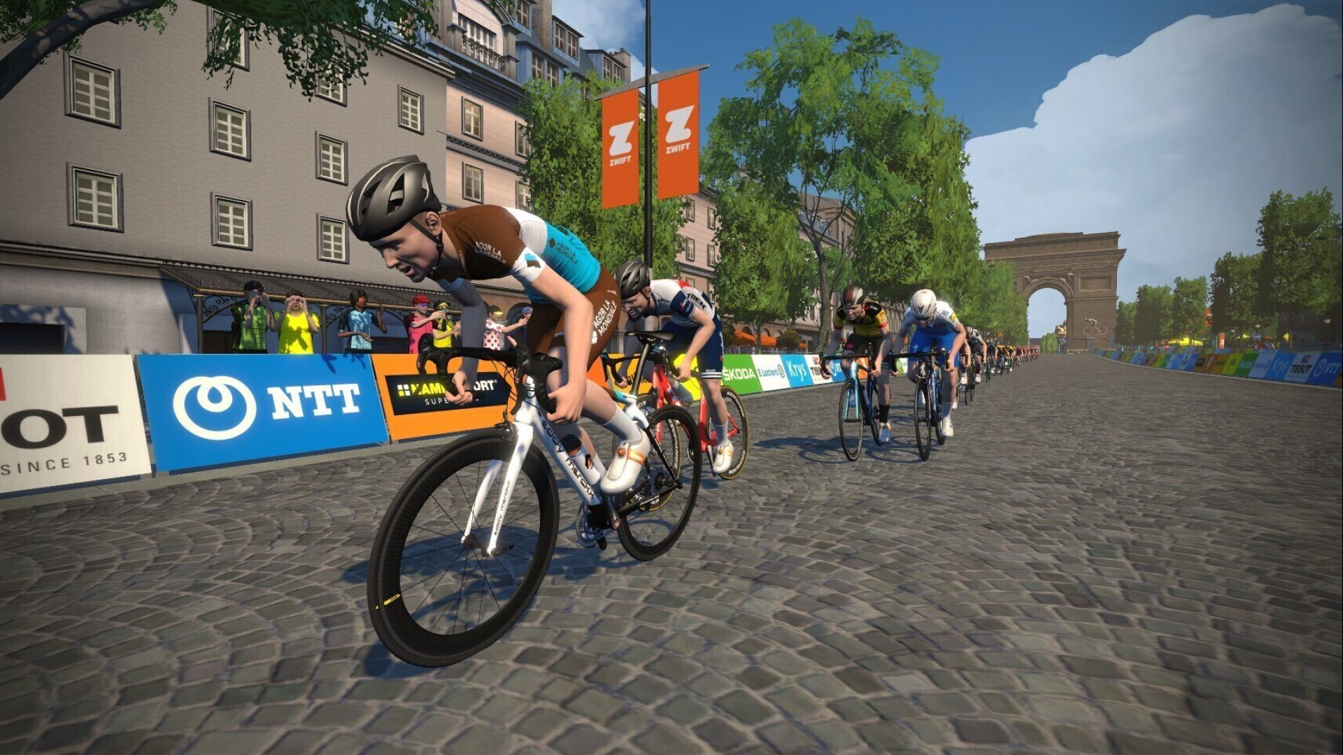 The First Virtual Tour de France Offers a Lesson in Harnessing Chaos