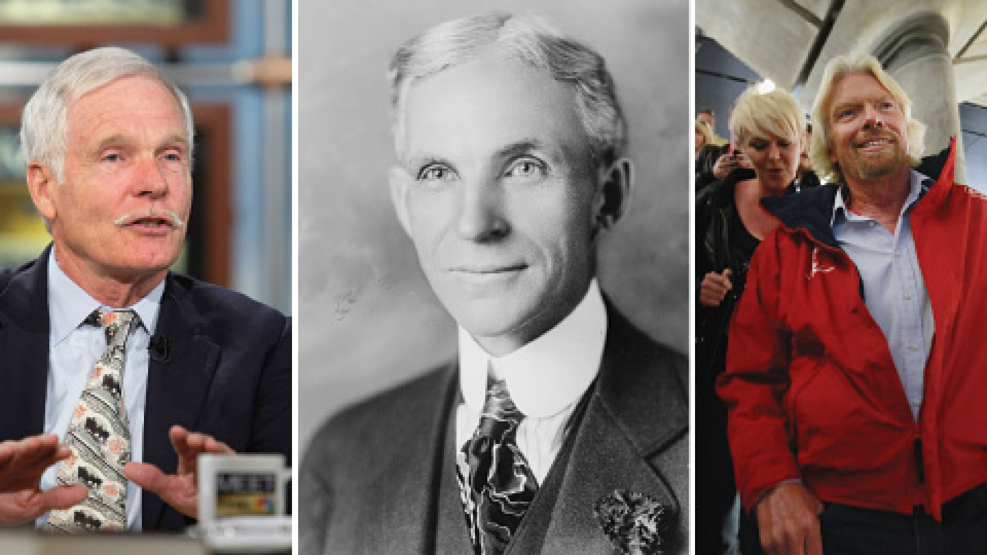 Ted Turner, Henry Ford and Richard Branson. Dyslexia may have nurtured their street smarts and resilience.