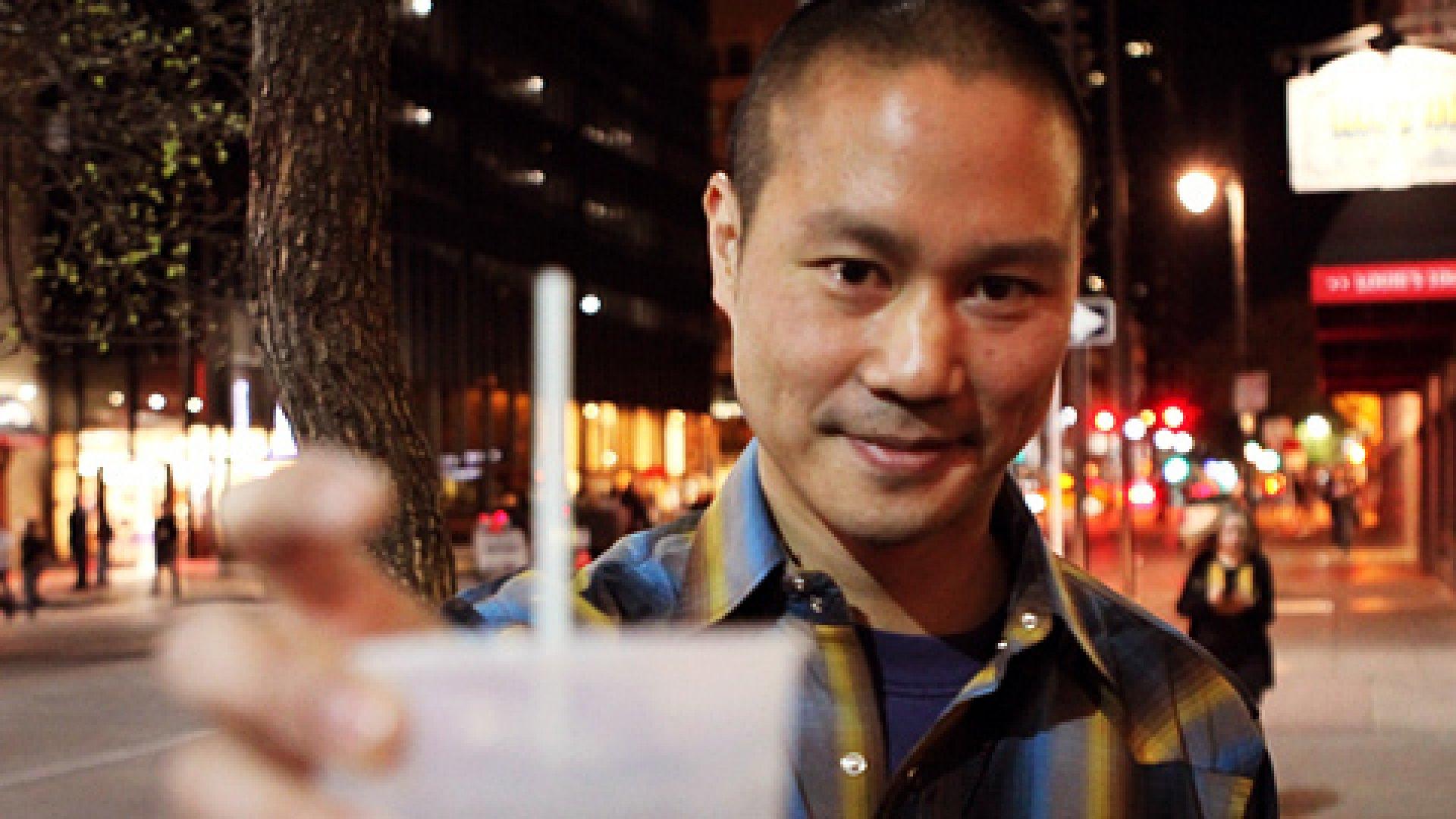 Zappos CEO Tony Hsieh in Las Vegas