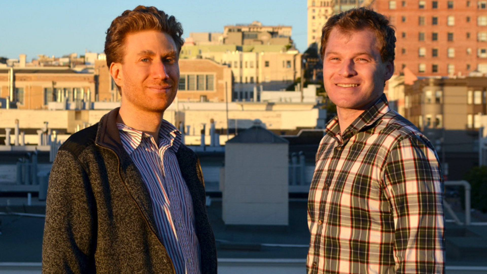 """Scribd co-founders Jared Friedman (left) and Trip Adler (right) decided to pivot the business last year. """"We realized the best way to monetize content was through a subscription model,"""" Adler says. <br> <br>"""