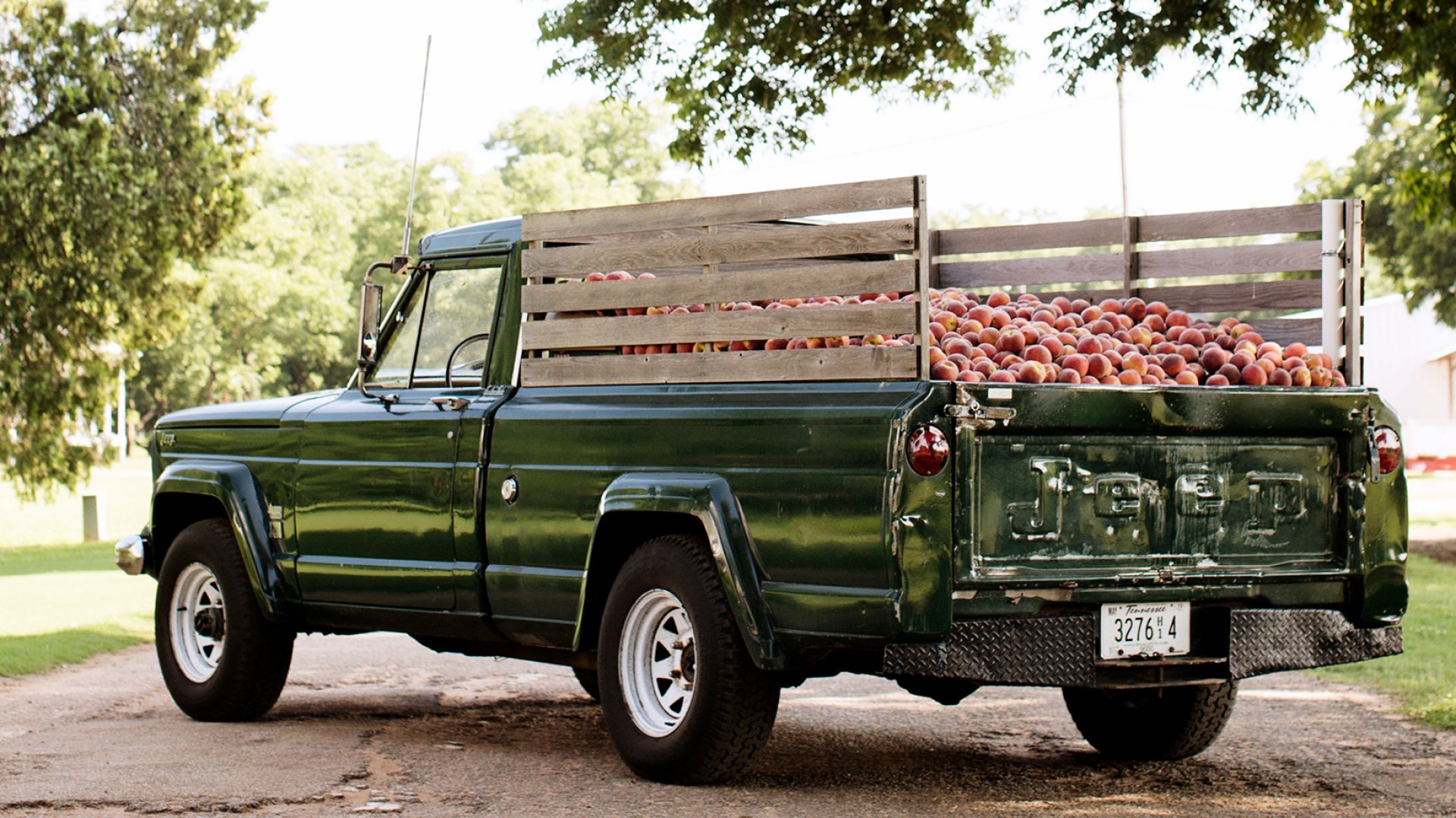 This Fruit Company Sells Out Each Summer in 12 Crazy Weeks. Inside the Logistical Madness of The Peach Truck