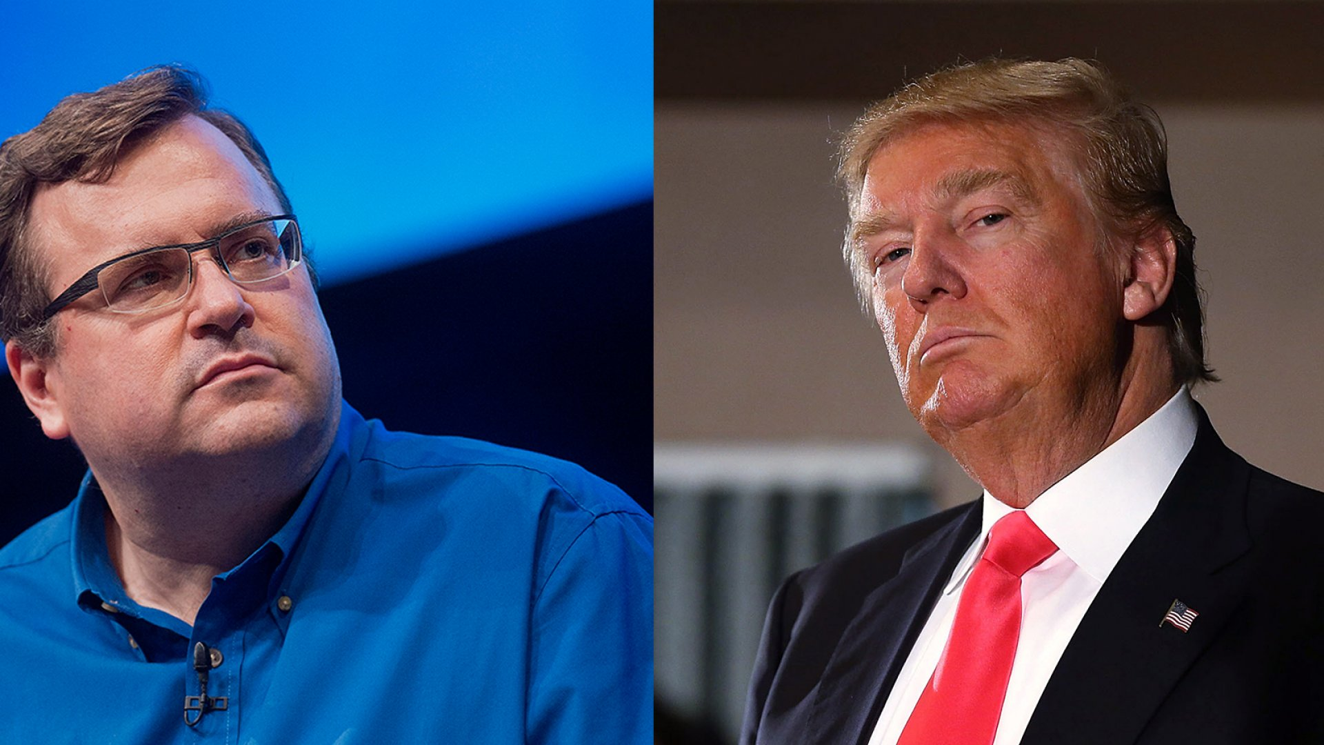 Why LinkedIn's Co-Founder Is Taking on Donald Trump