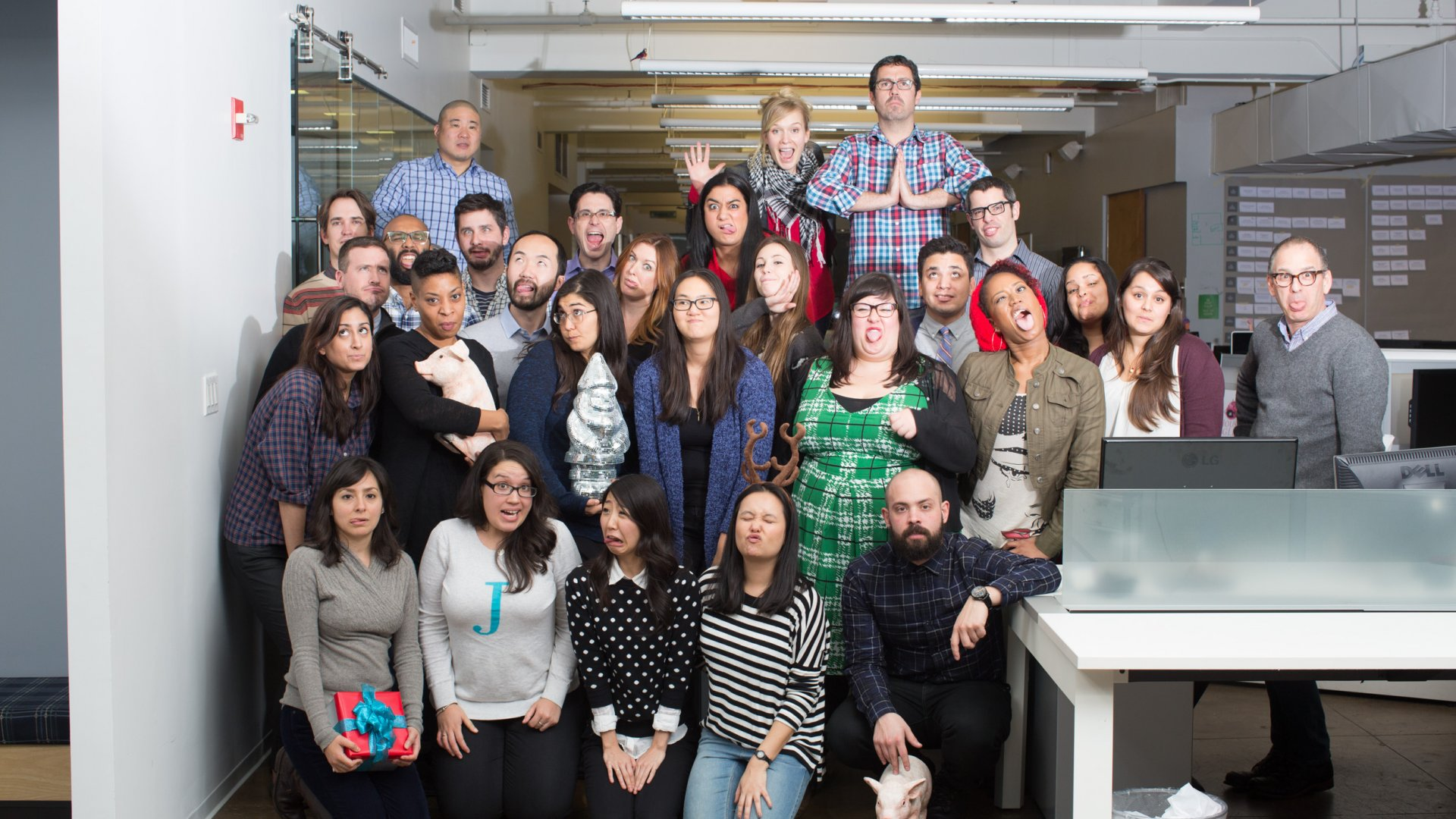 None of these employees at Alexander Interactive, a $10-million advertising agency based in Manhattan, will be working the week of July 4th.