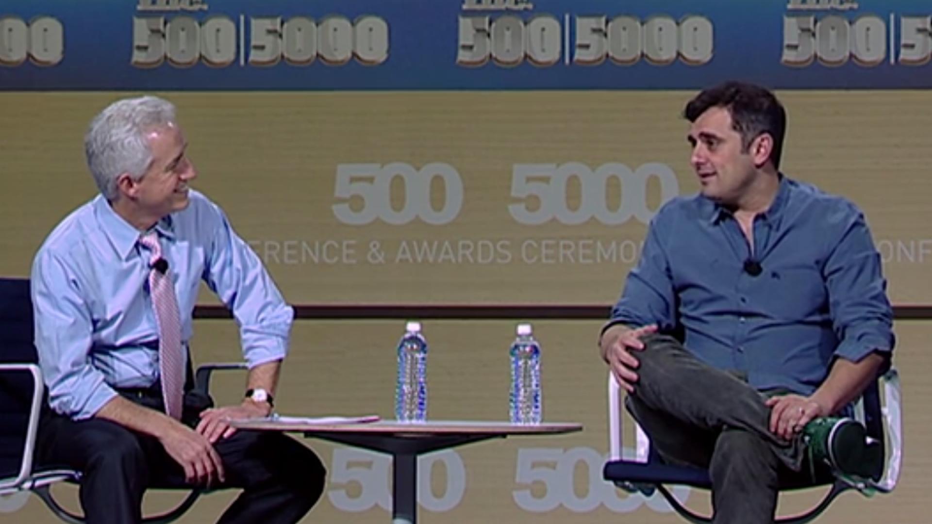 Gary Vaynerchuk: In Social Media, Patience Is a Virtue
