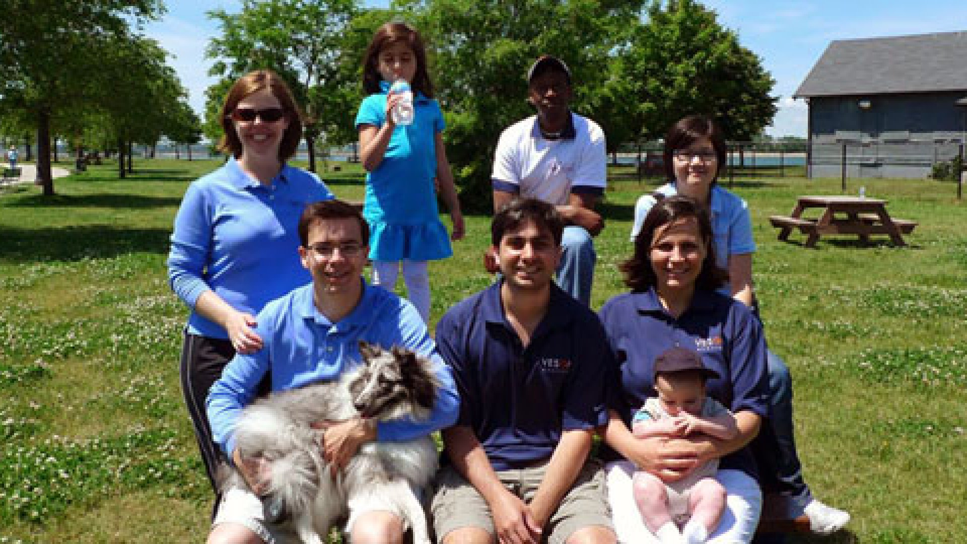 Employees and executives come together to support their favorite local charities, such as Boston's annual Lupus Walk. The company organized a team for the 2009 walk (pictured above) and plan to participate again this year.
