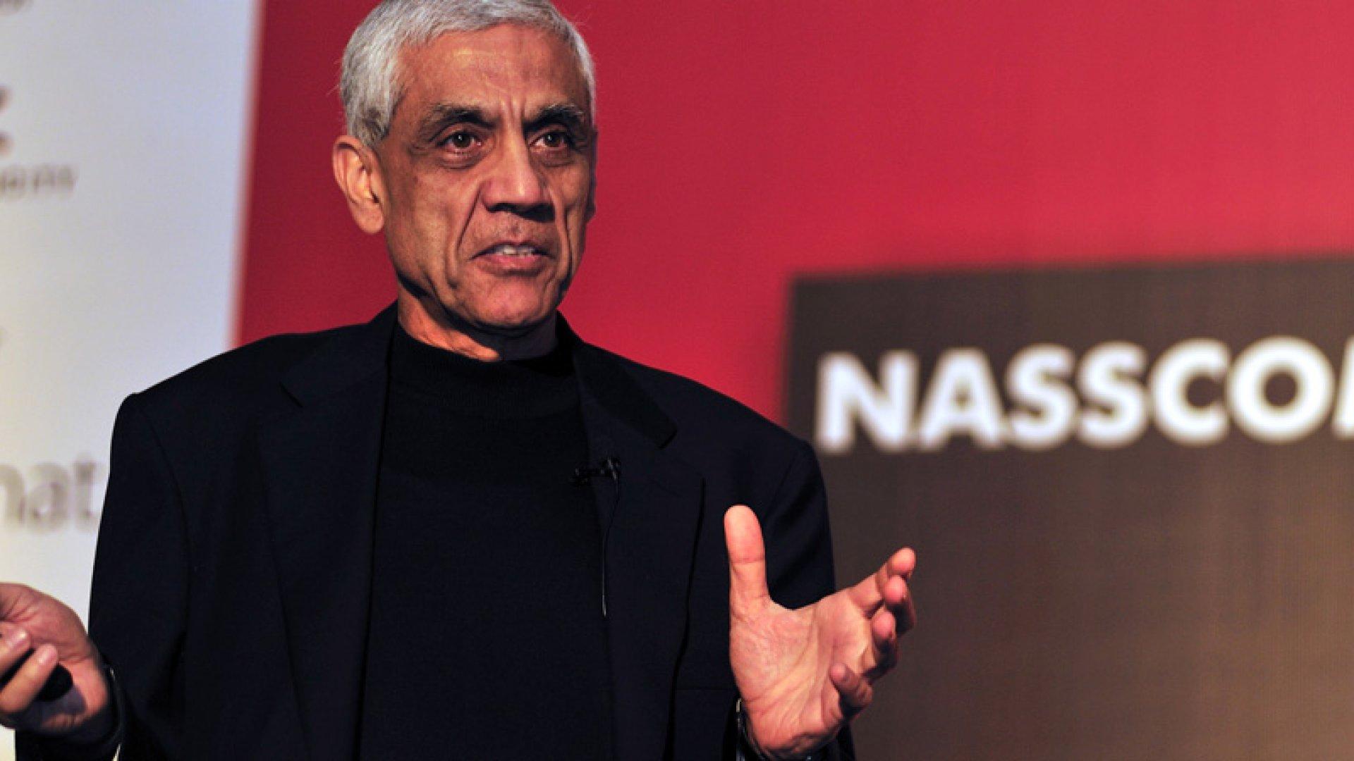 Vinod Khosla: 3 Ways to Survive Amid Rapid Change
