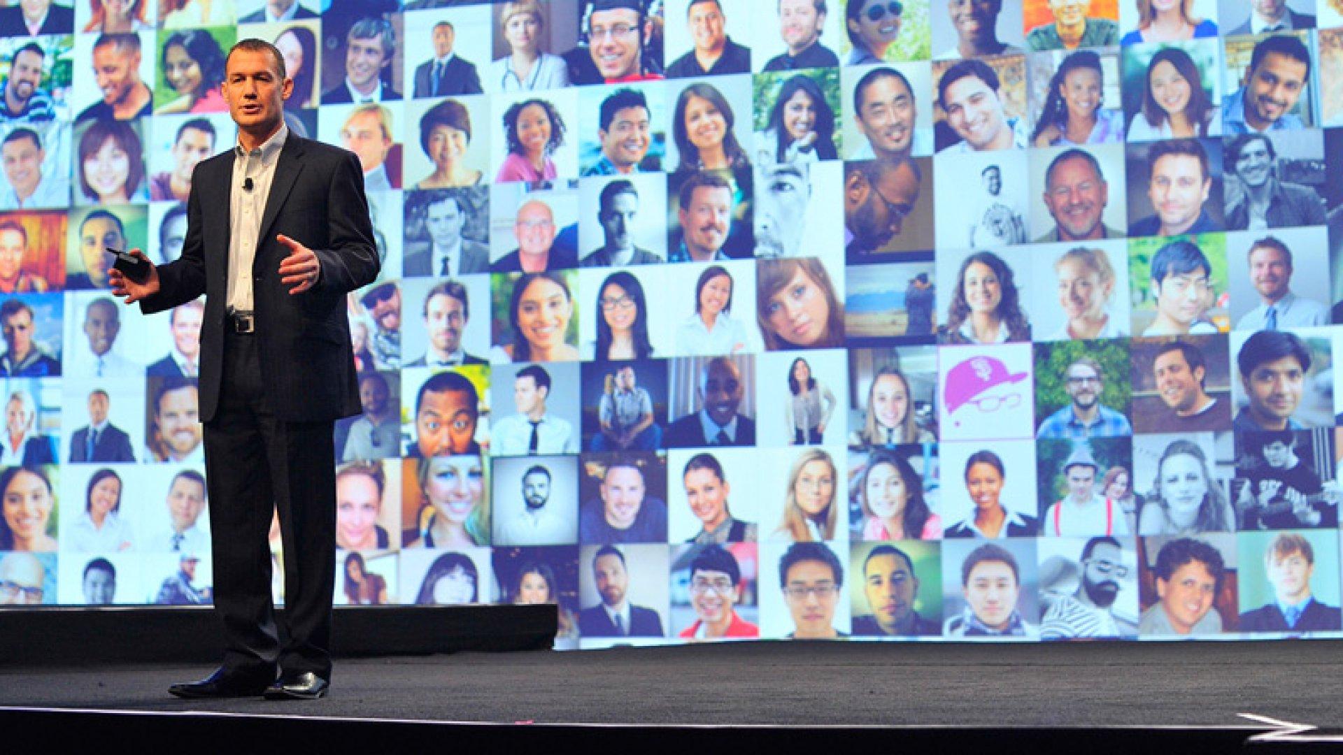 Wade Burgess, LinkedIn's VP of talent solutions
