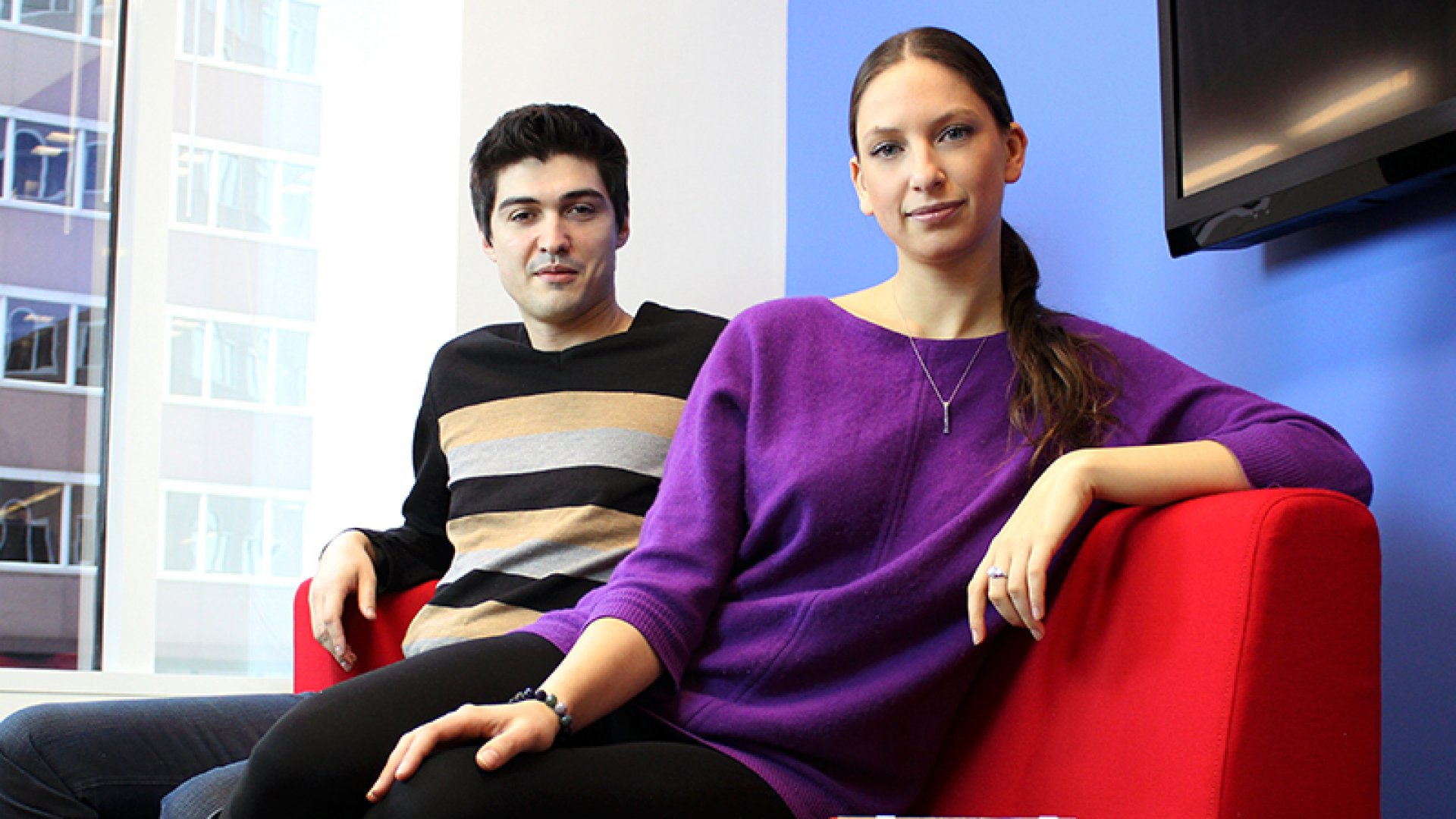 Igor Bratnikov and Polina Raygorodskaya are the co-founders of bus-scheduling service Wanderu.