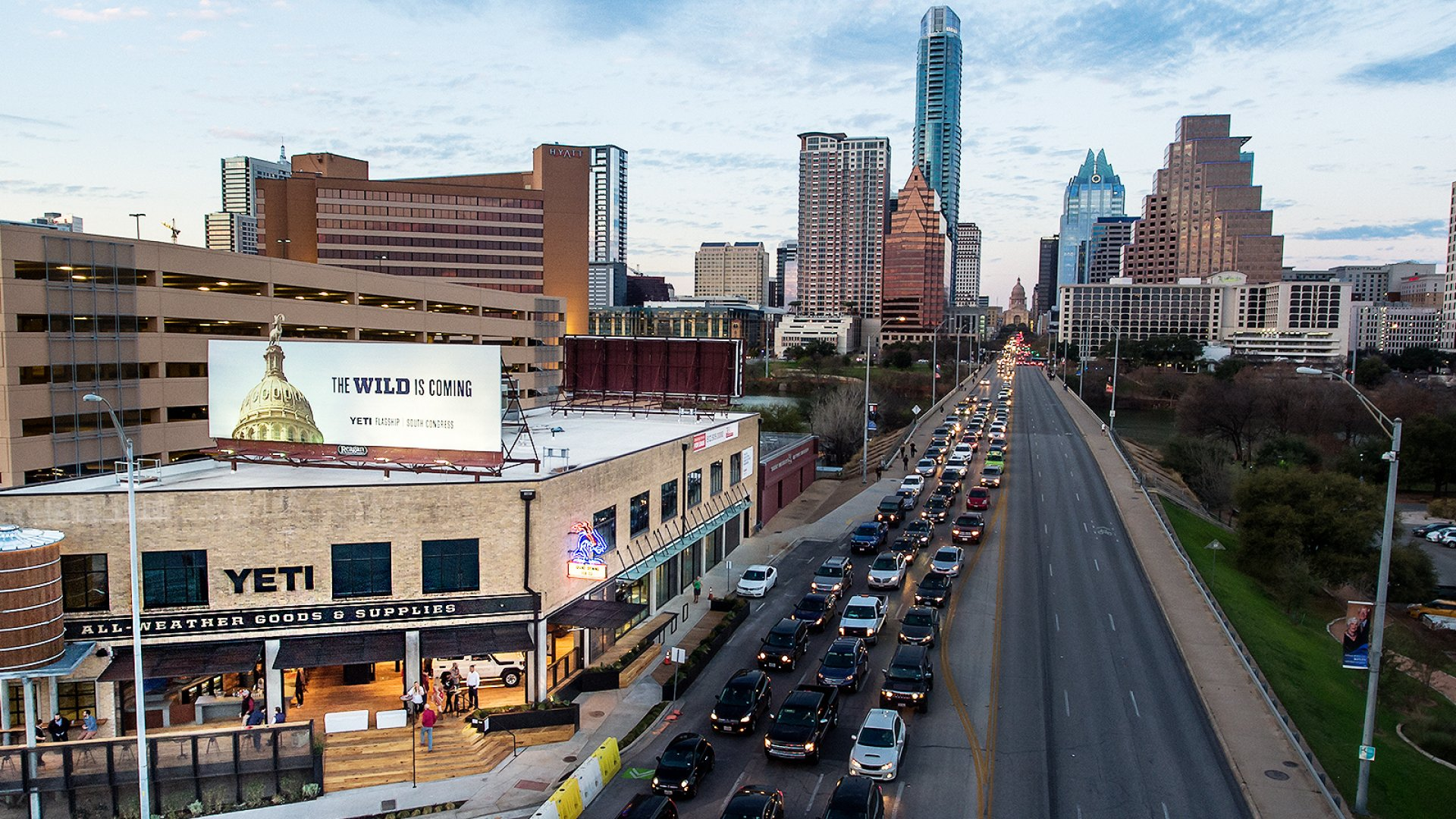 Yeti's first flagship store just opened in Austin.