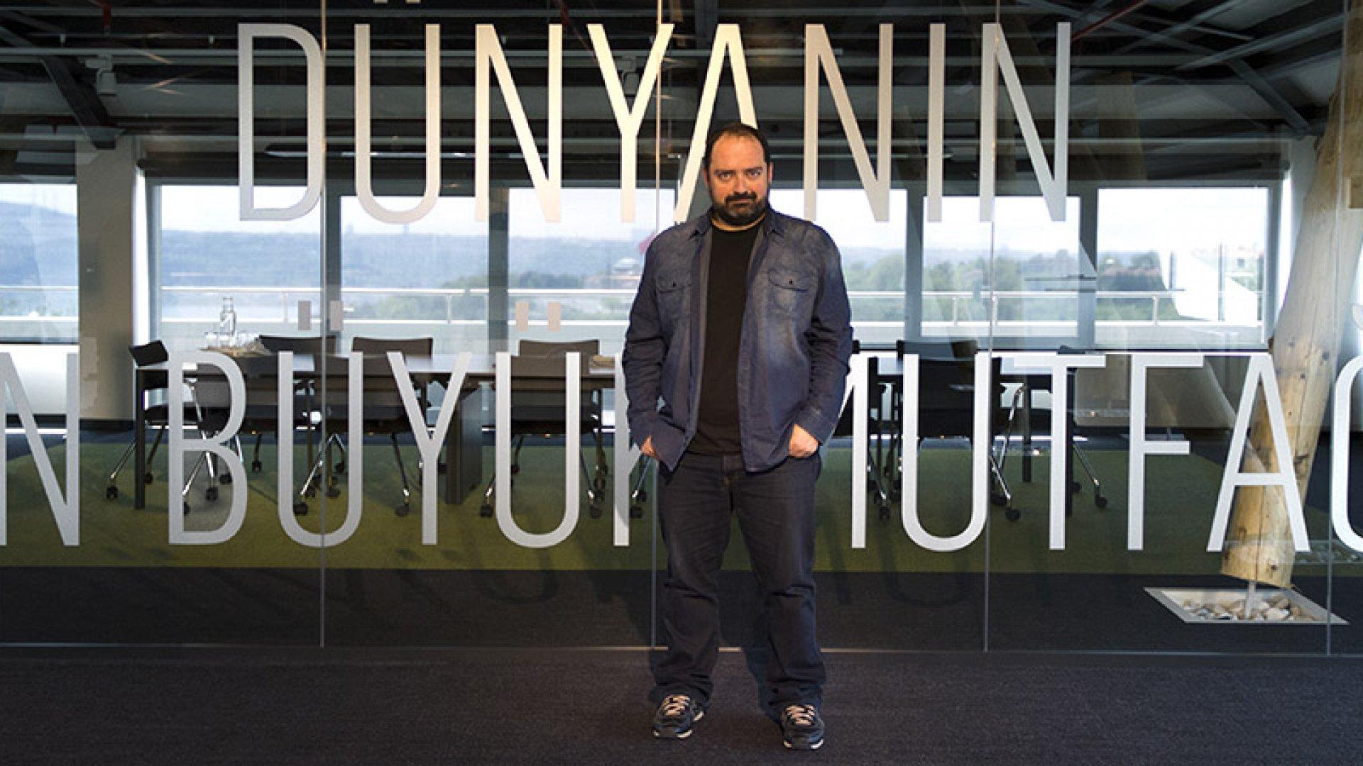 Yemeksepeti Co-founder and CEO Nevzat Aydin