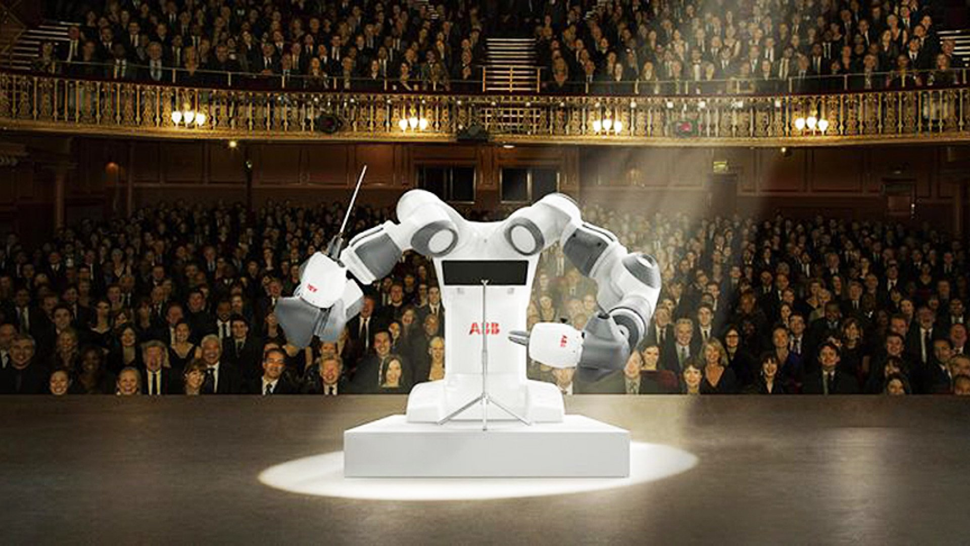 YuMi the robot.