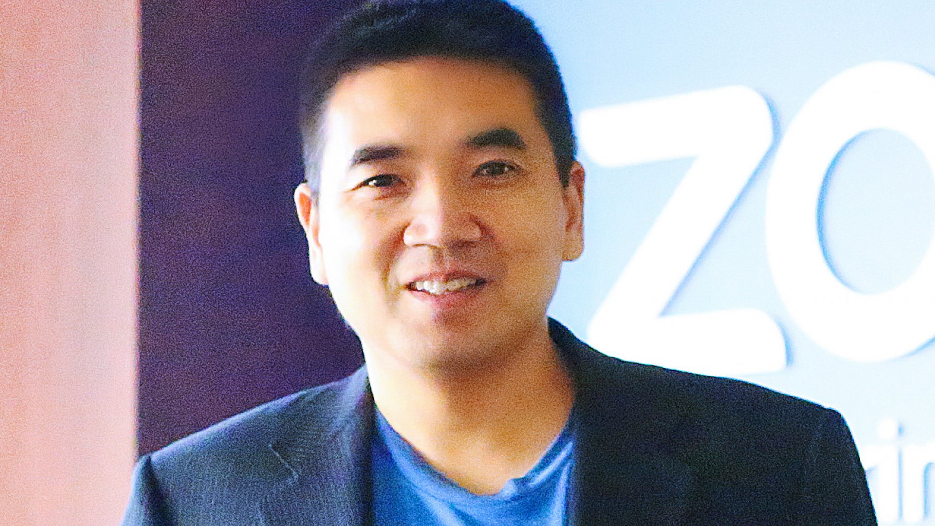 Zoom founder and CEO Eric Yuan.