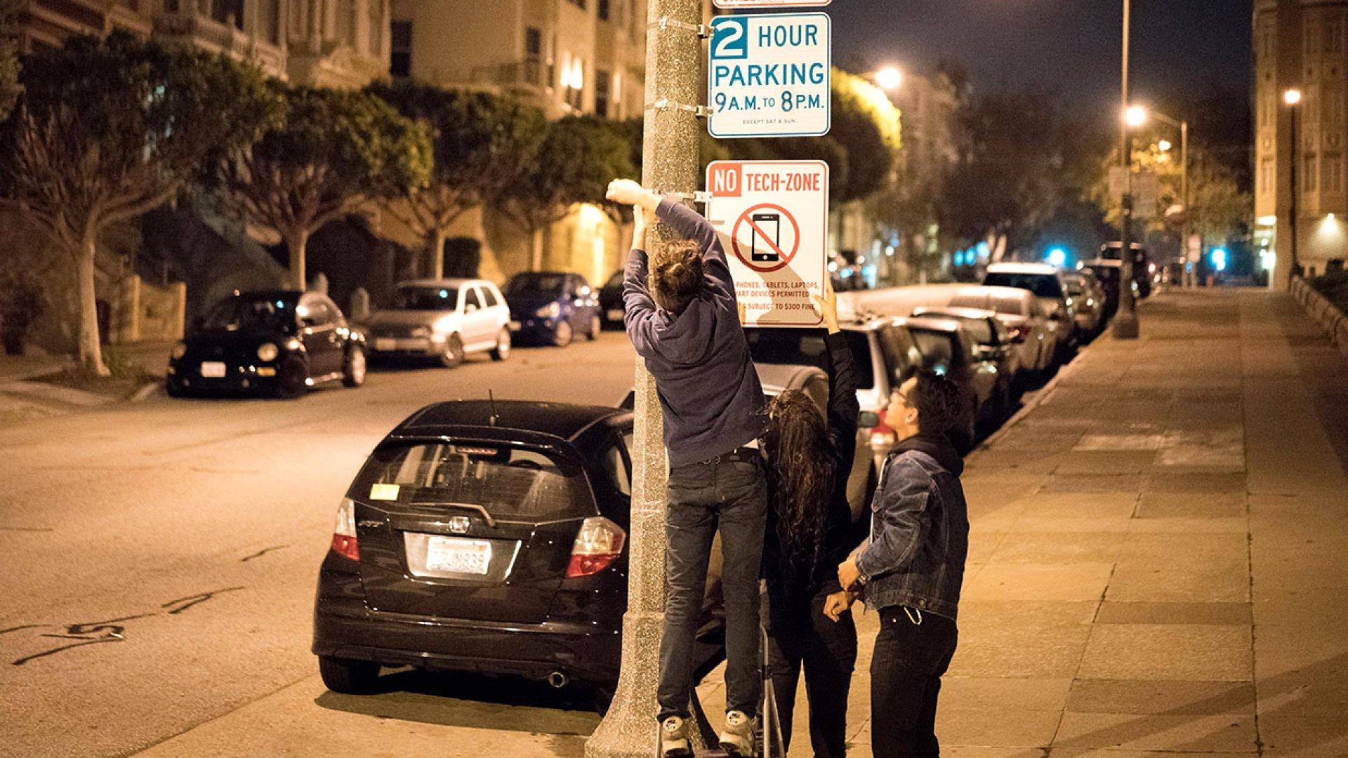 Here's A Novel Way To Solve San Francisco's Tech Addiction