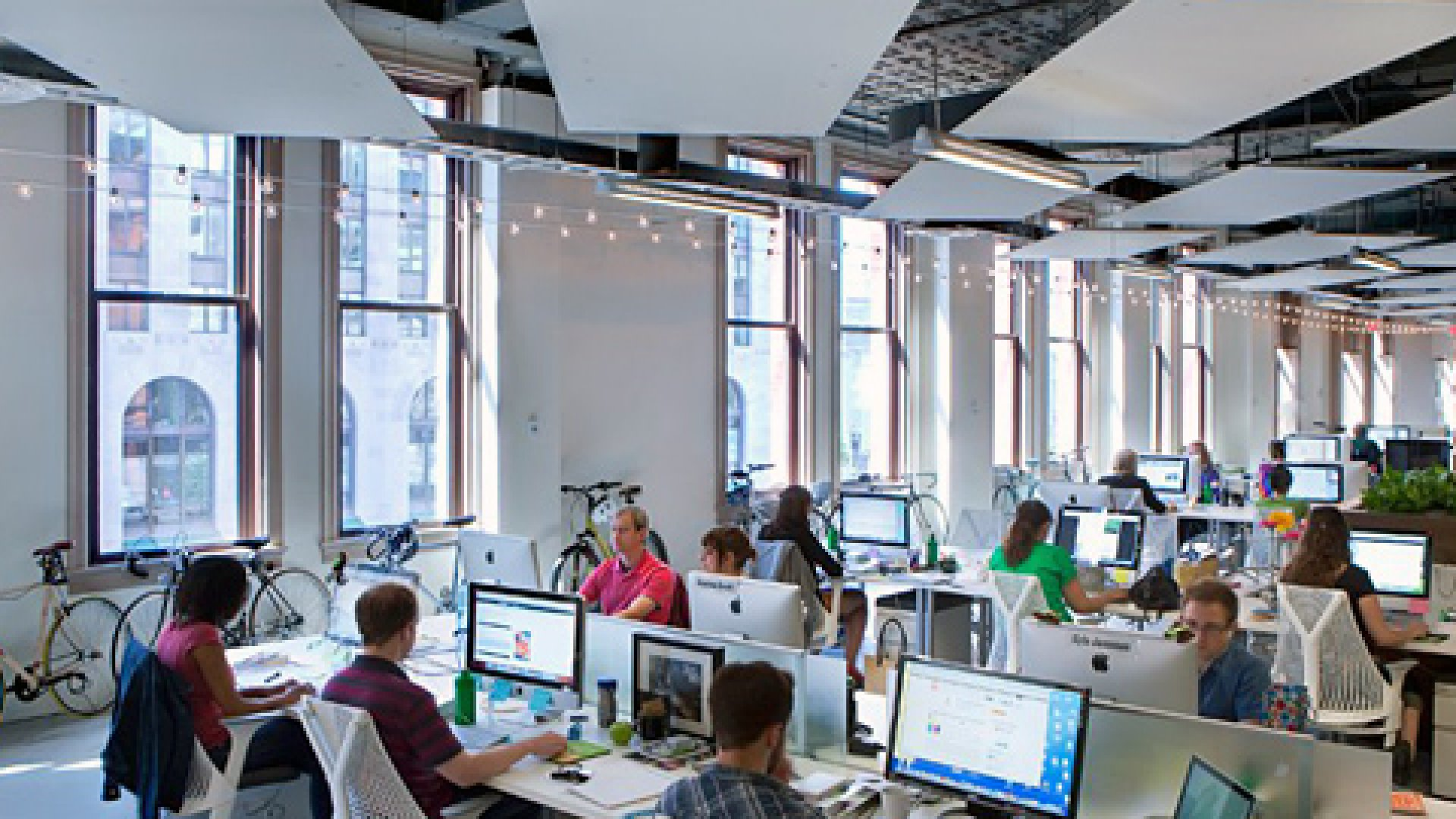 An Urban Office That Nods to History