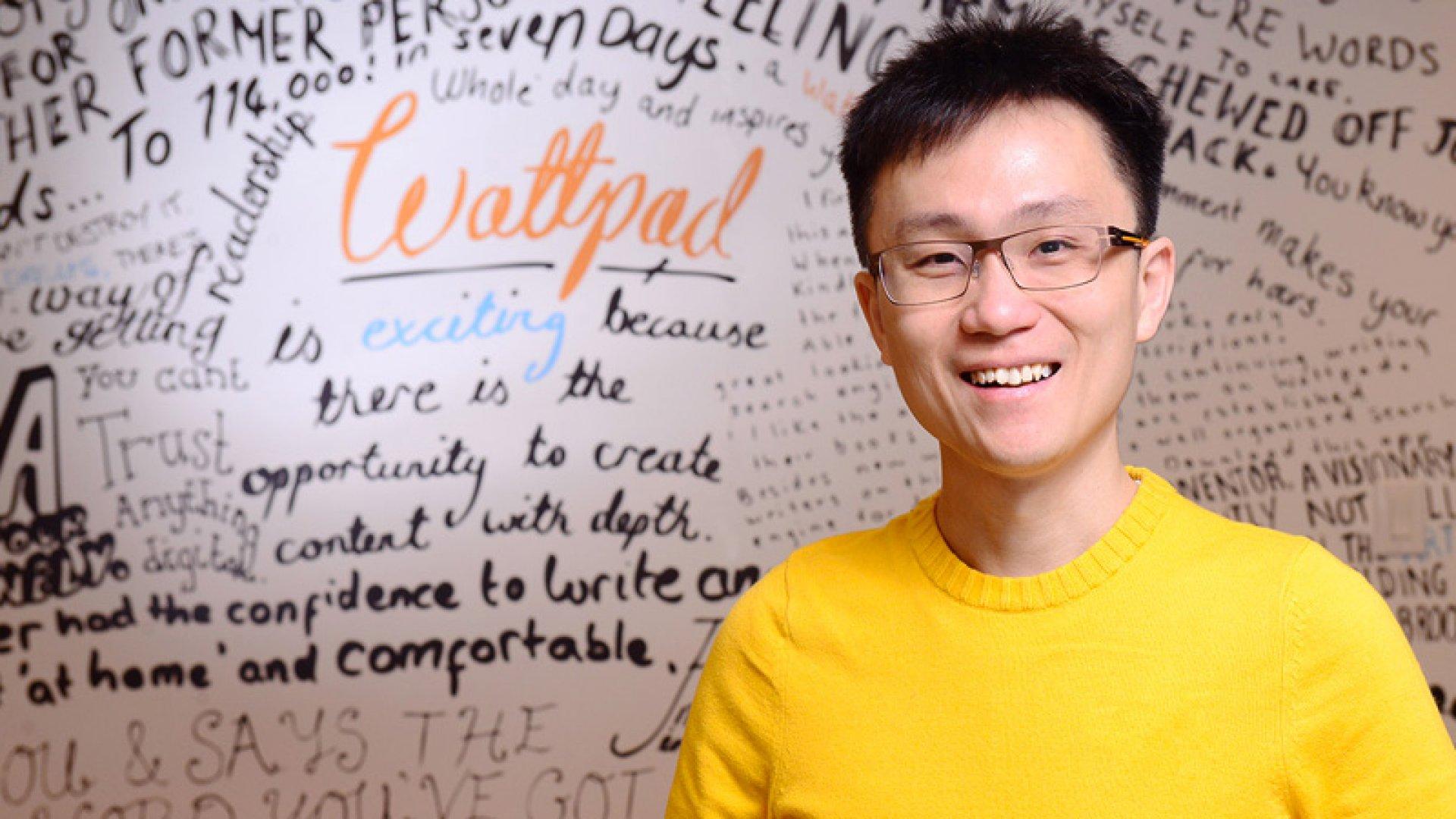 Allen Lau, co-founder of Wattpad.