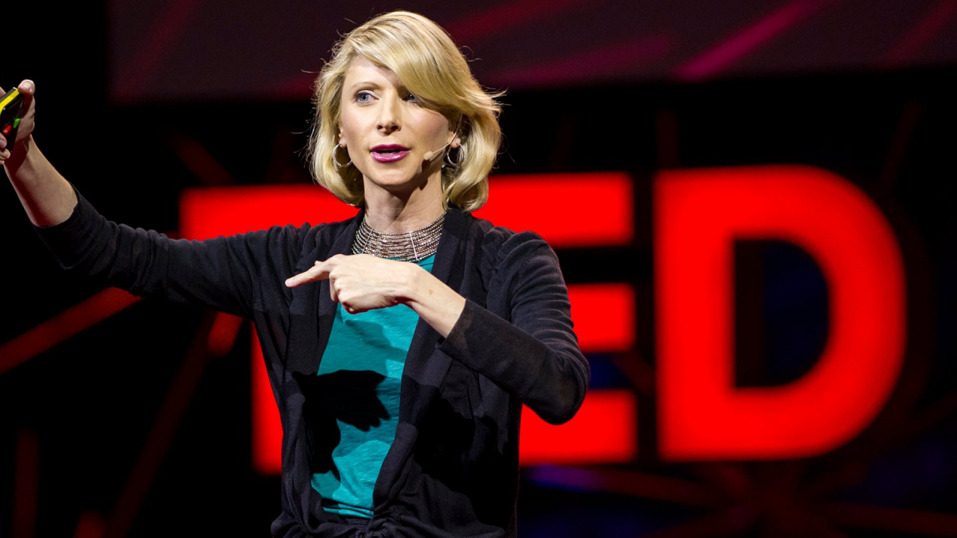 Amy Cuddy, social psychologist, speaks during Session 8: Talk to Strangers, at TEDGlobal 2012 on Thursday, June 28, in Edinburgh, Scotland.