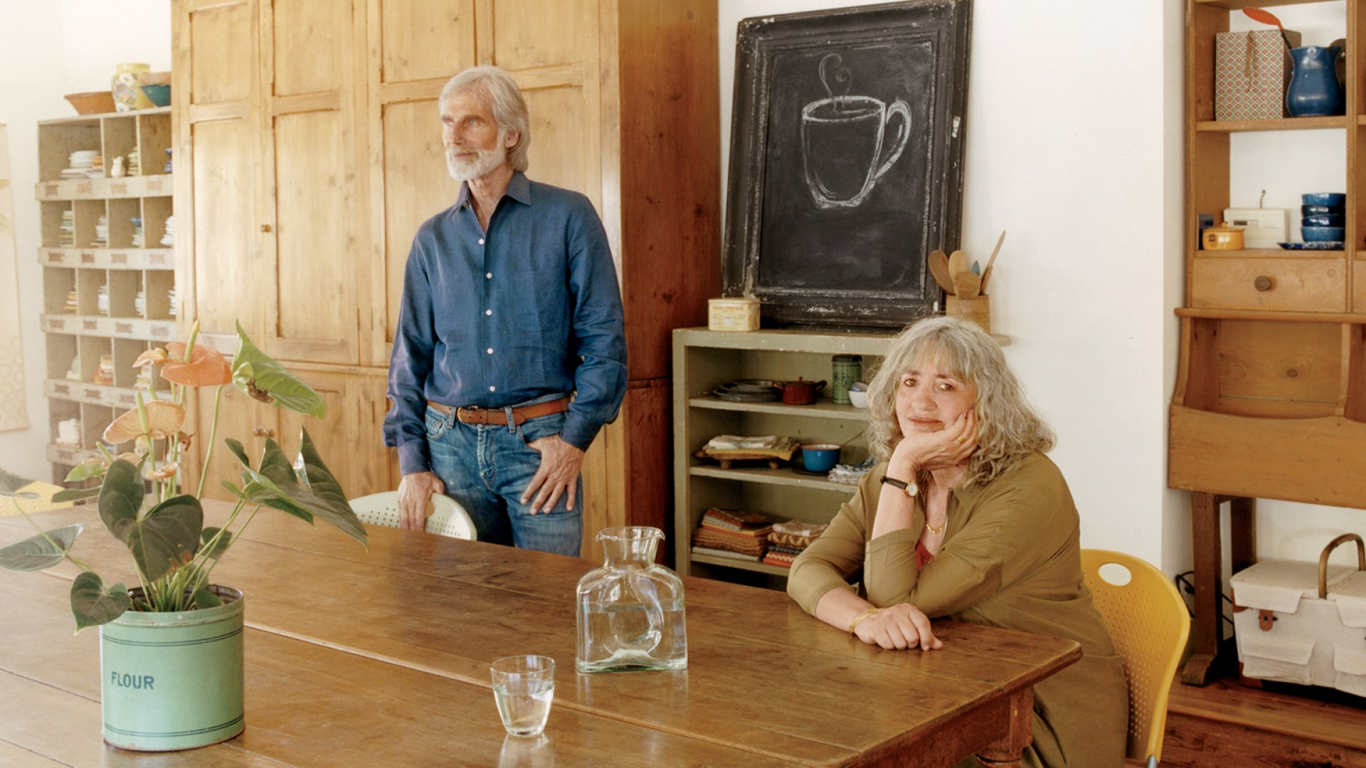 Rachel and Andy Berliner didn't set out to establish the market for organic frozen foods. But when they couldn't find anything good to eat, they realized they could create it.