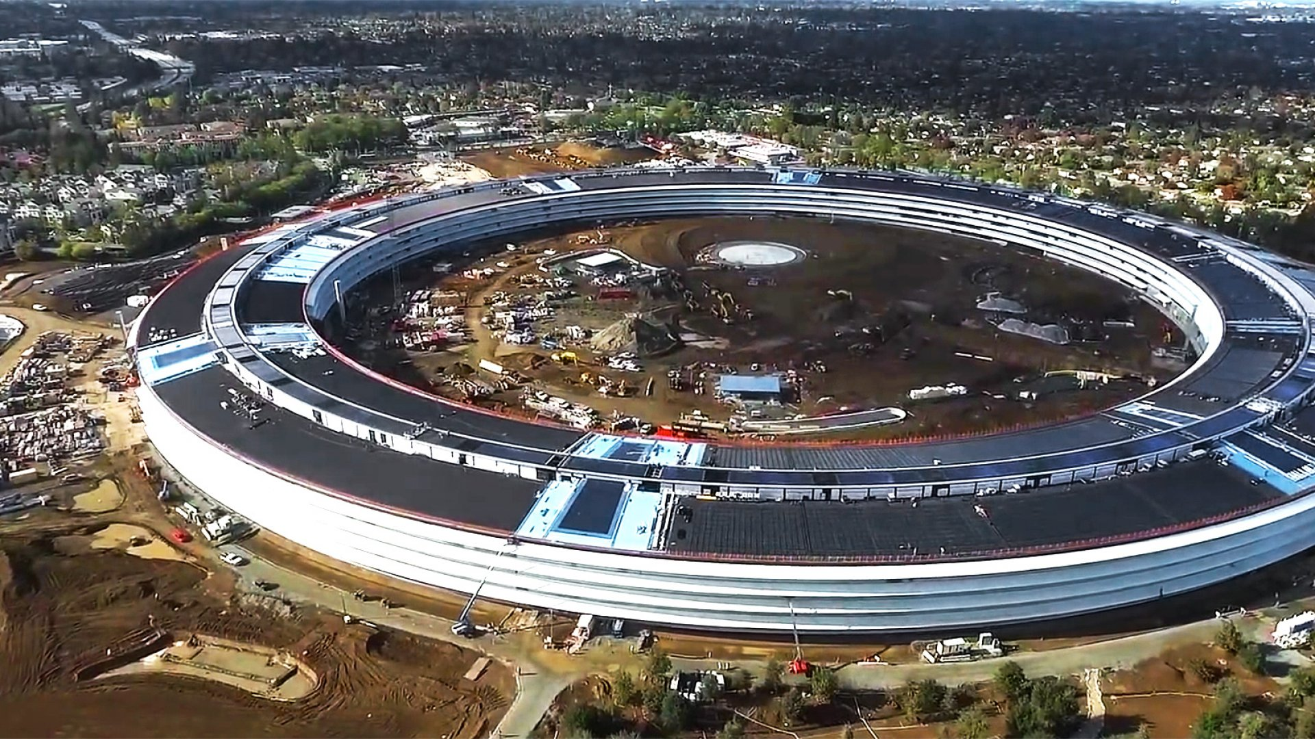 Apple's new campus, Apple Park.