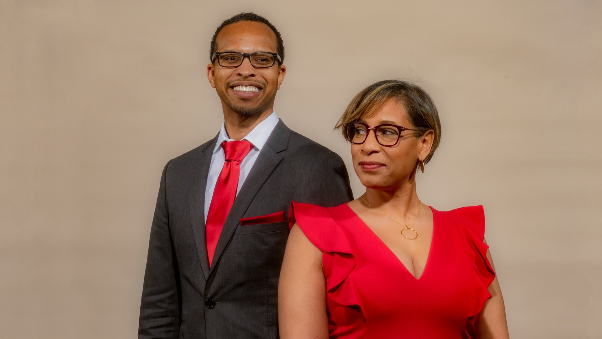 Biffrey Braxton (left) and Kimberly Citizen, co-founders of Applied Development.