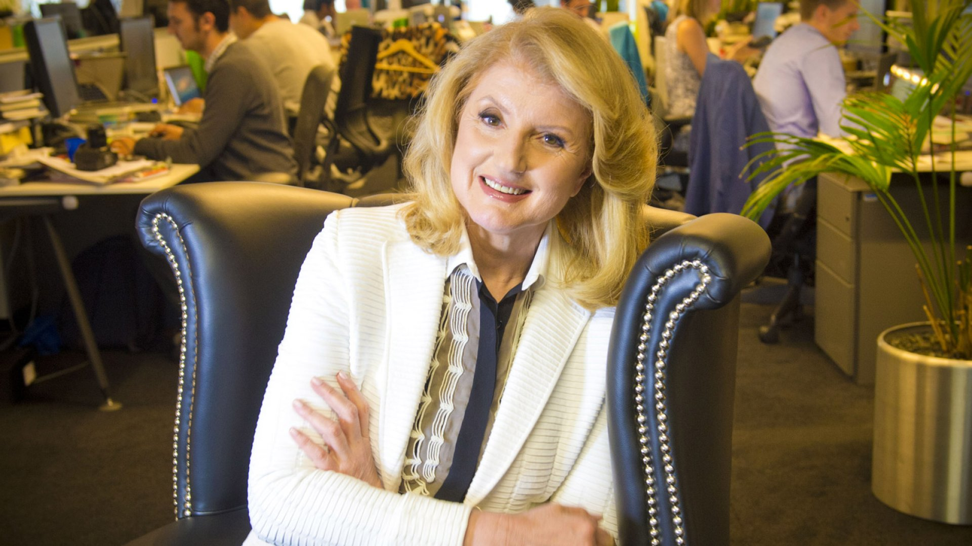 Arianna Huffington on Wellness for Workaholics
