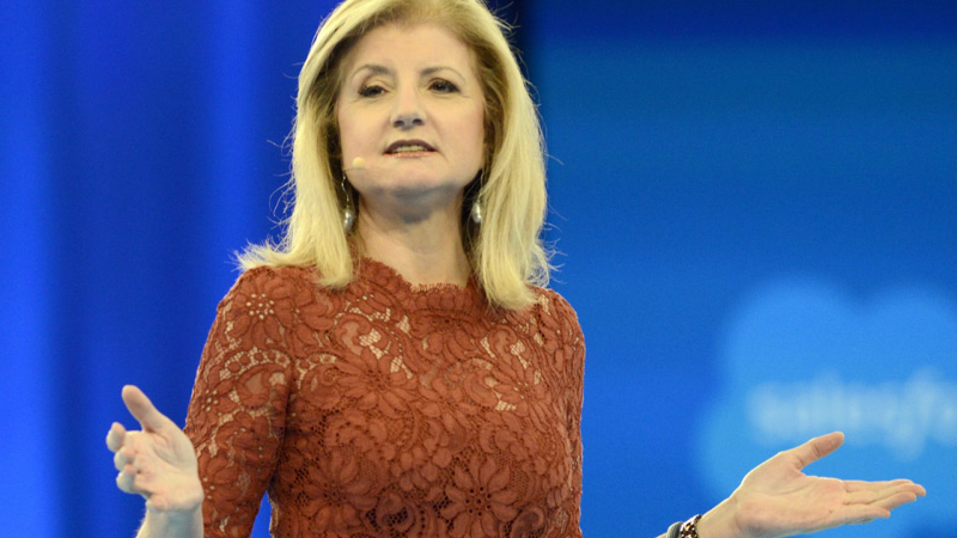 Arianna Huffington's Prescription for Happiness