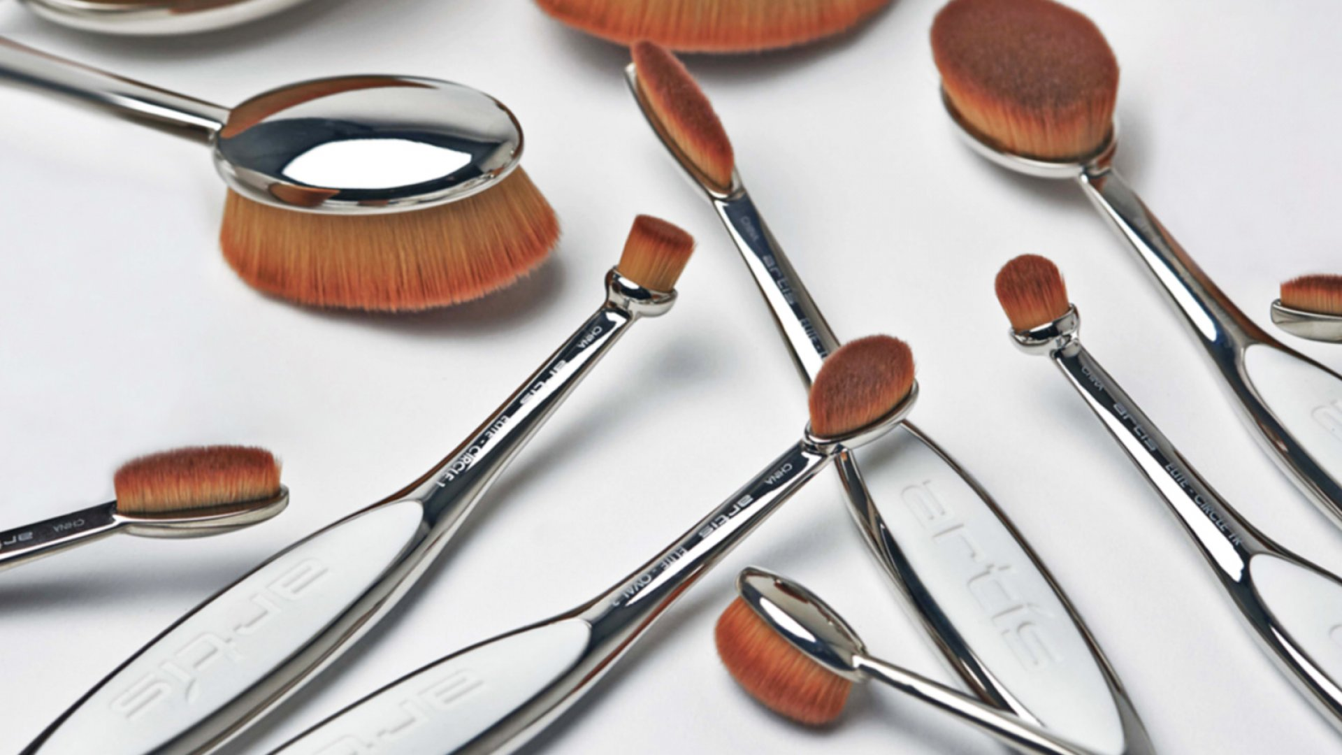 Artis makeup brushes.