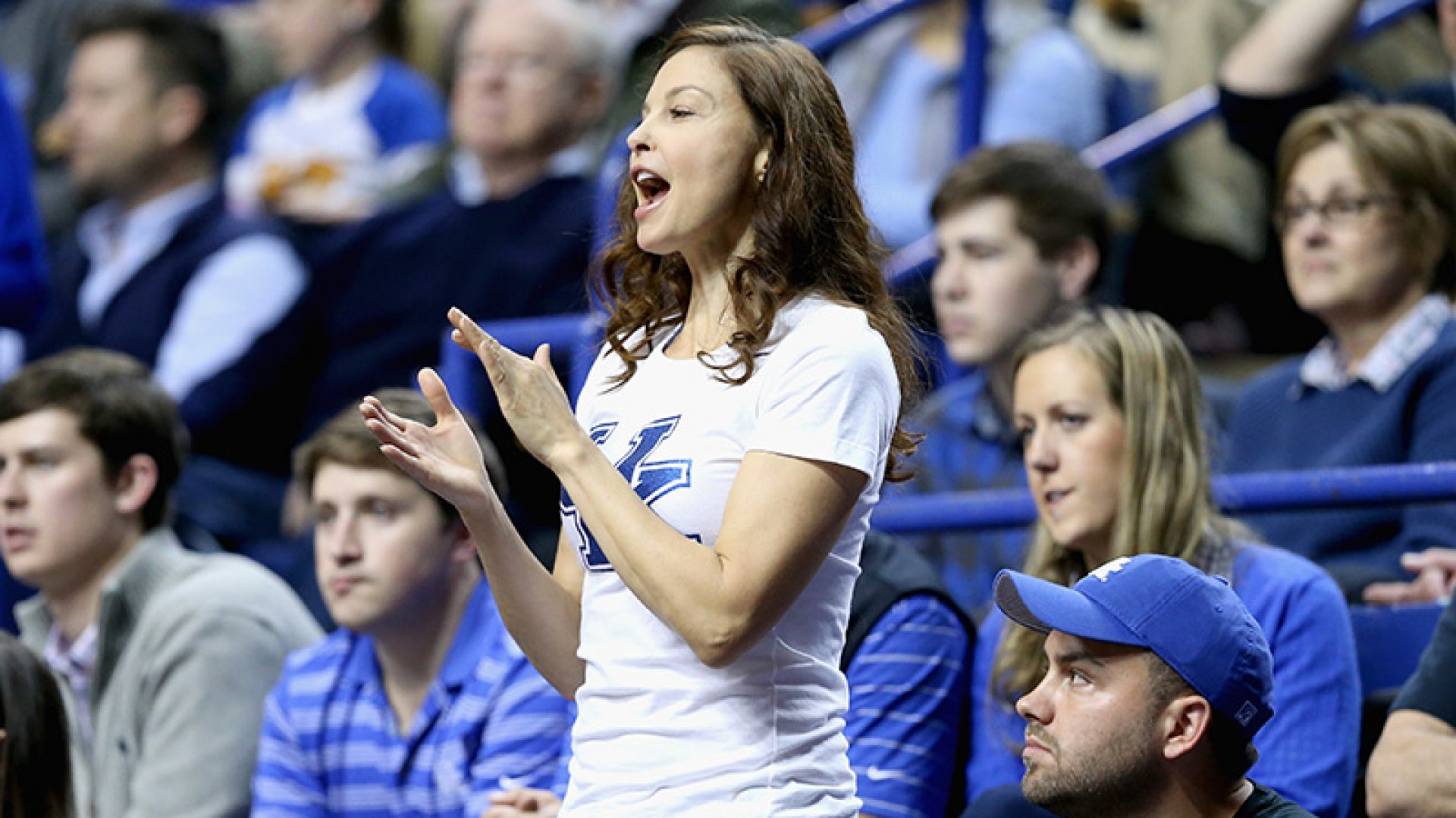 Ashley Judd (pictured) recently experienced cyber bullying after sending a tweet about Kentucky's basketball team.