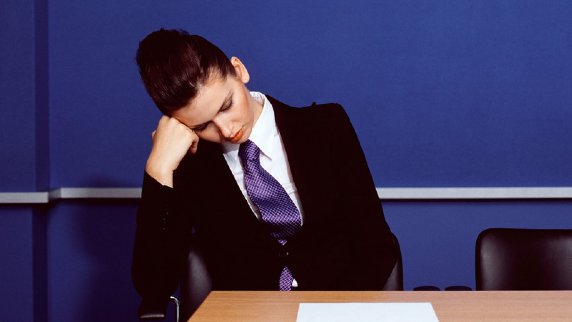 Nodding Off in Meetings? Blame Your Office
