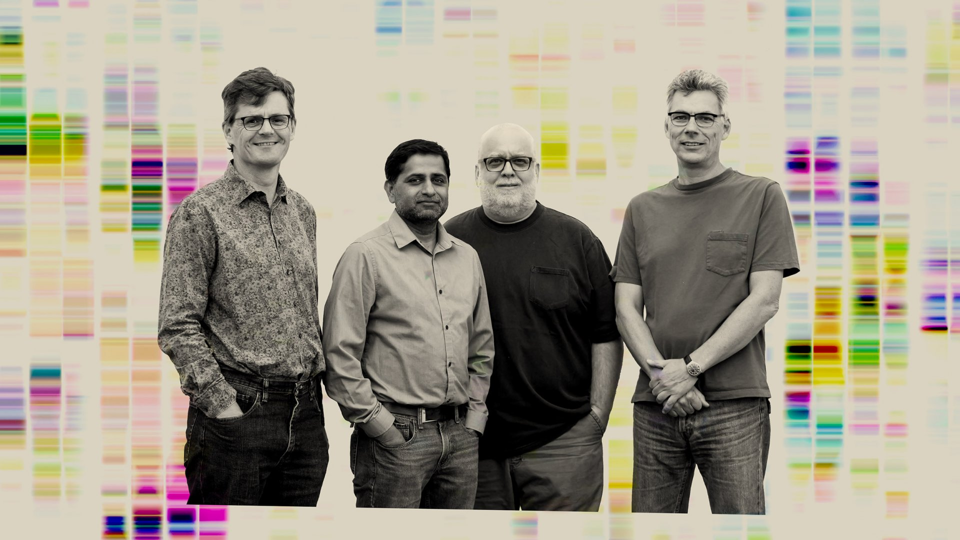 Left to right: Jeremy Minshull, Sridhar Govindarajan, Jon Ness, and Claes Gustafsson