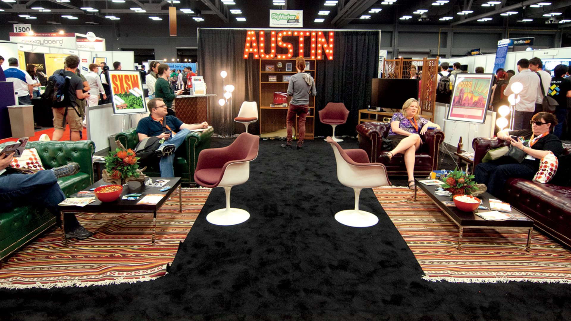 <b>Grab Your Lanyard:</b> About 300 exhibitors will have booths at this year's SXSW.