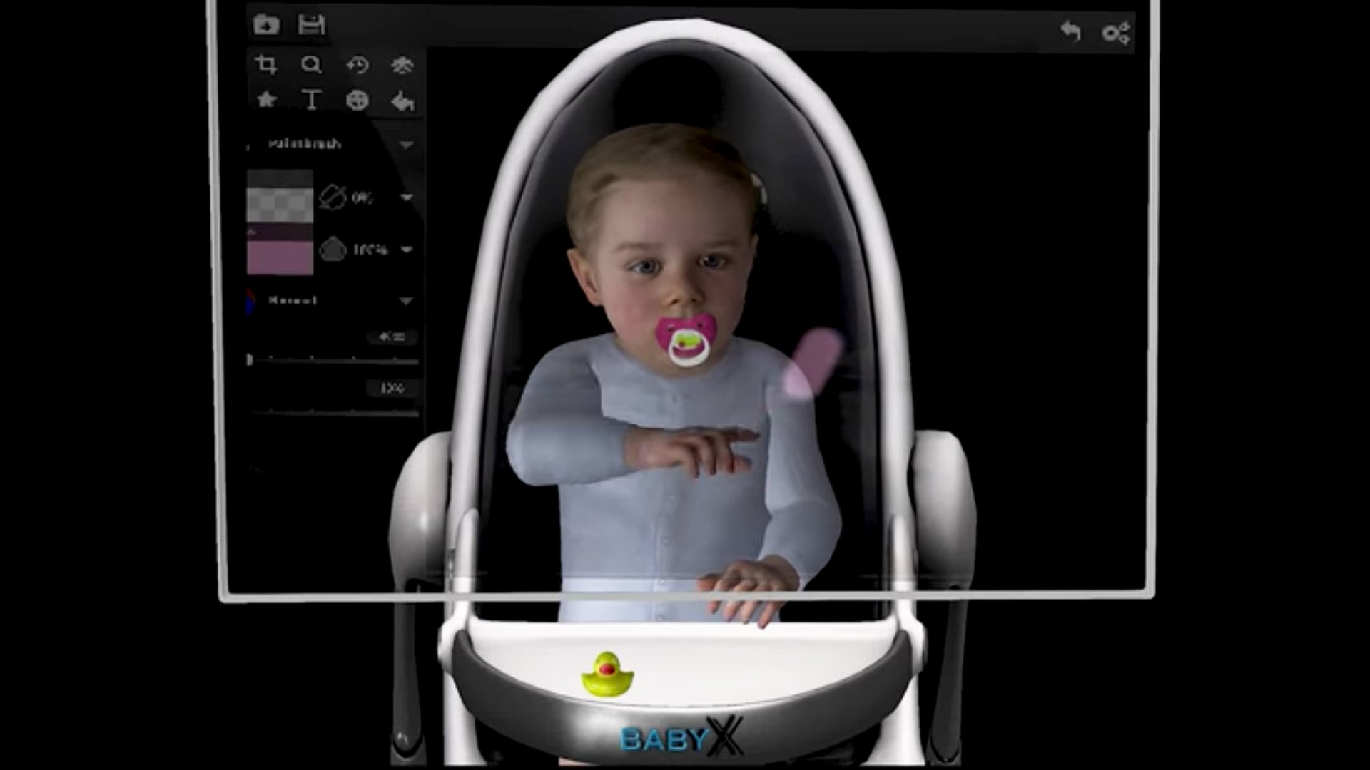 This Creepy Baby AI Character Can Talk, Read, and Emulate Emotions
