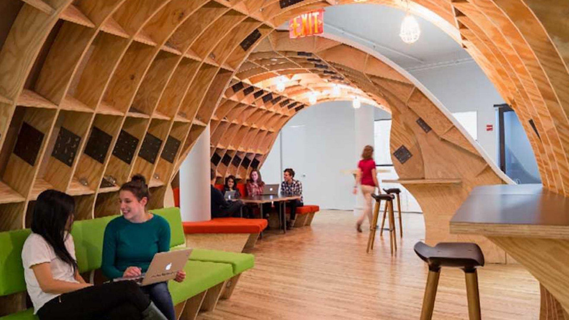 The Biggest, Baddest Desk in New York City