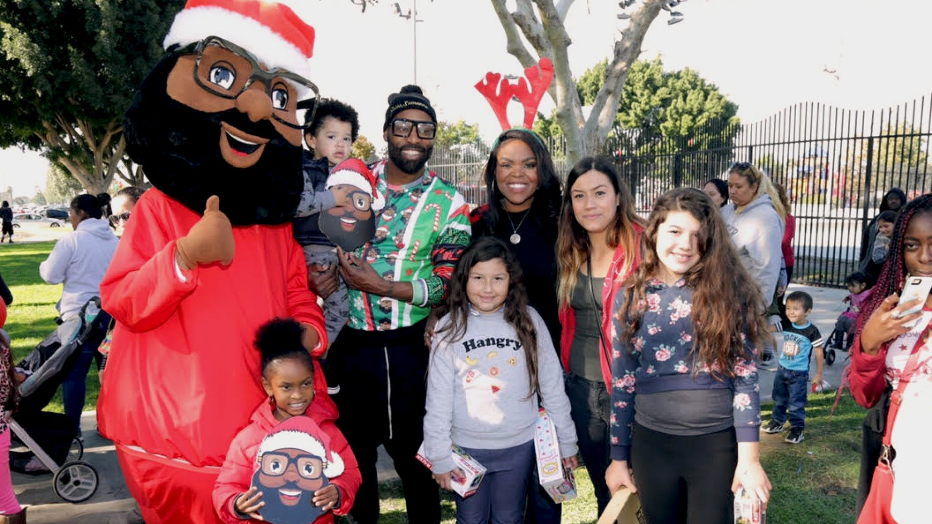 Baron Davis, the former NBA all-star, started the Black Santa Company to promote more diversity in popular culture.