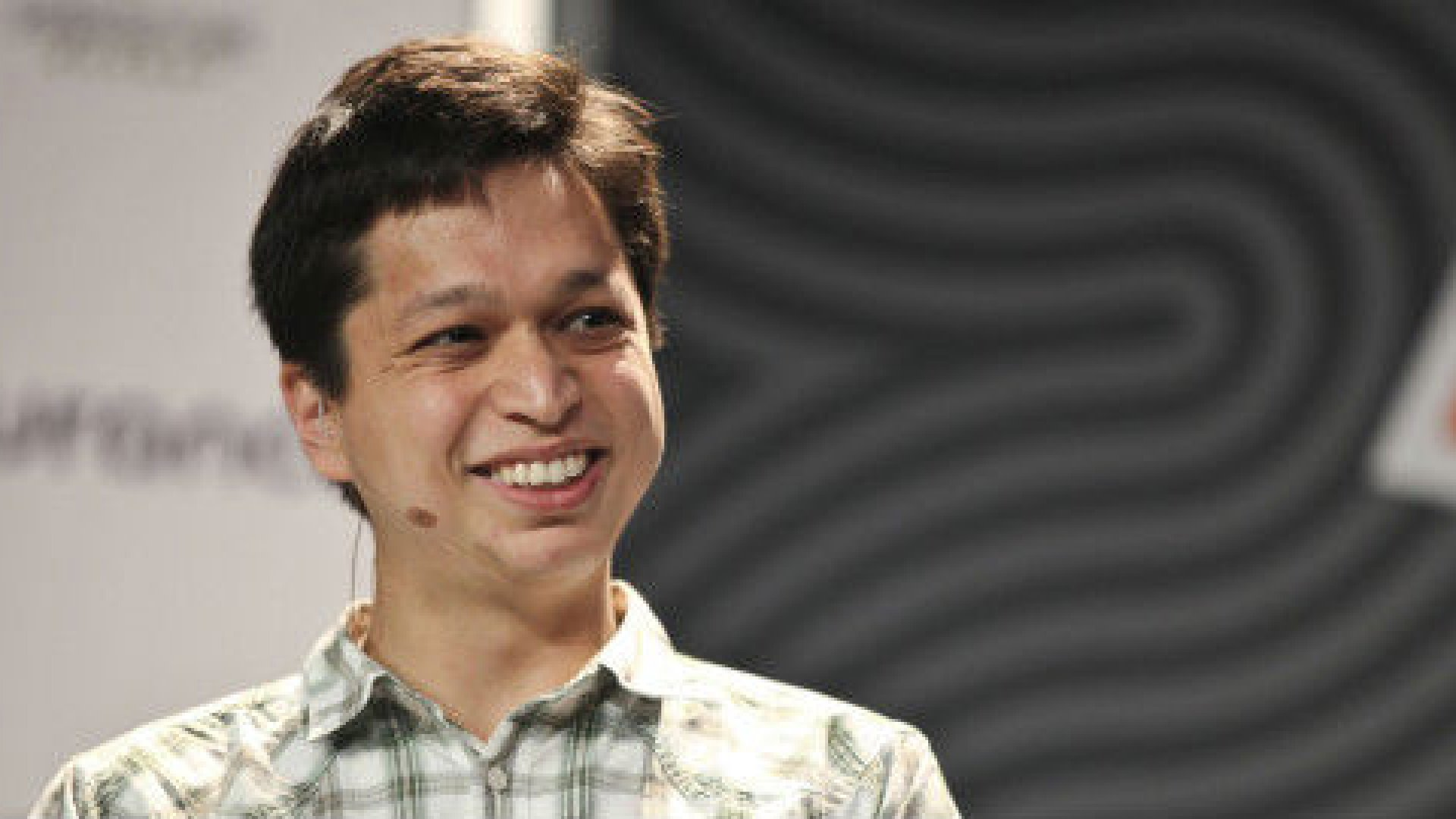 After nine months, Pinterest was still under 10,000 users, and a lot of them weren't using it every day but Silbermann (pictured) stuck with it.