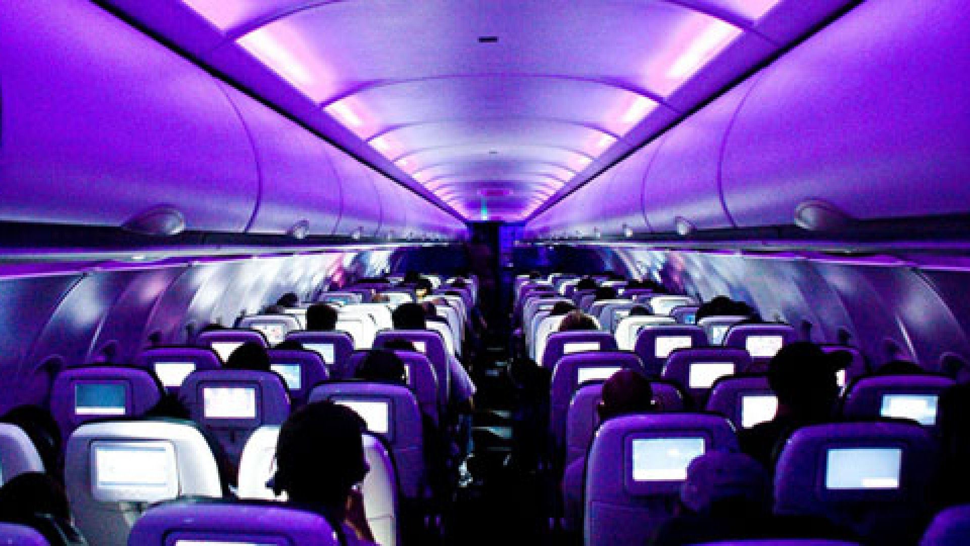Best In-Flight Entertainment: Virgin America RED