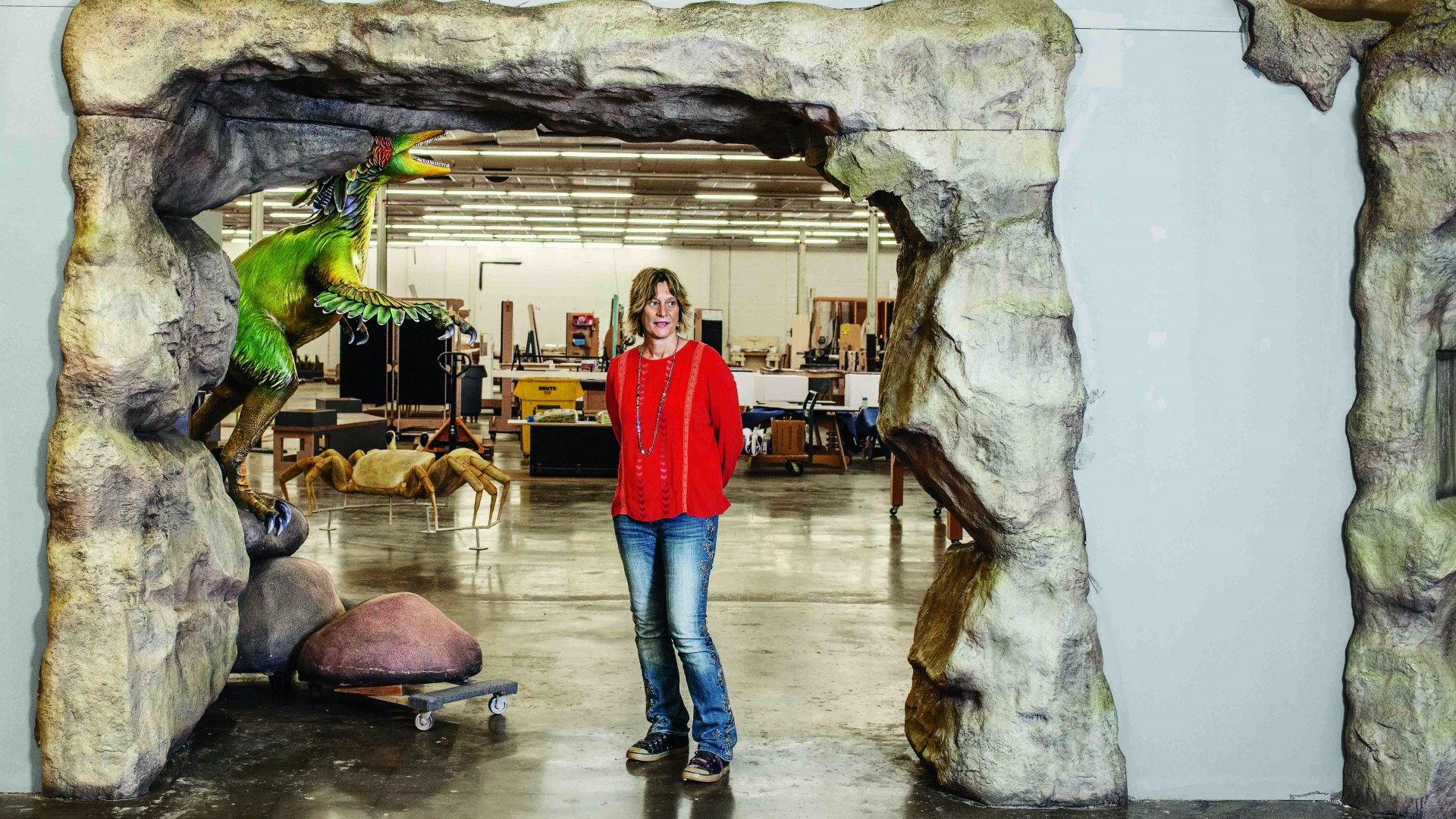 Her Business Builds 3-D Experiences for the World's Museums