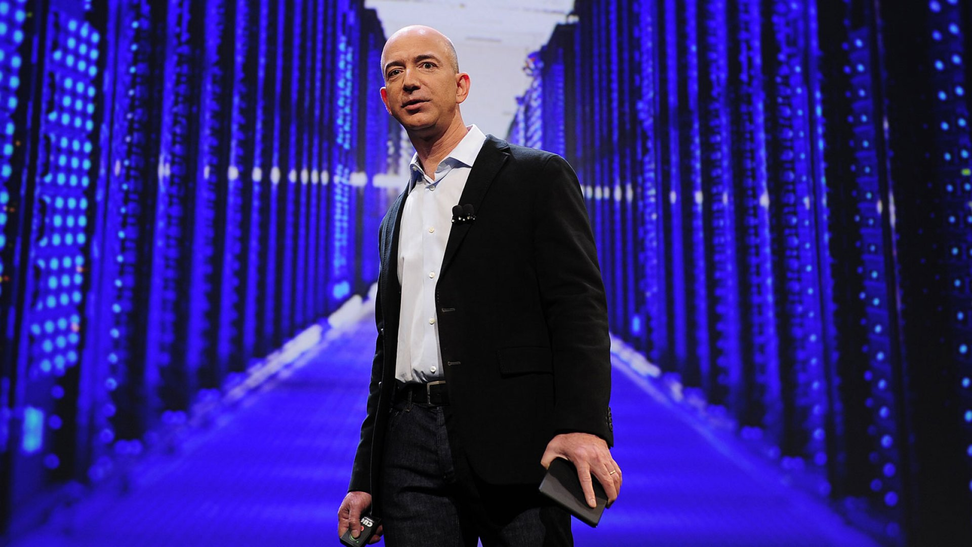 Jeff Bezos 'Invented His Way Out' of Failure