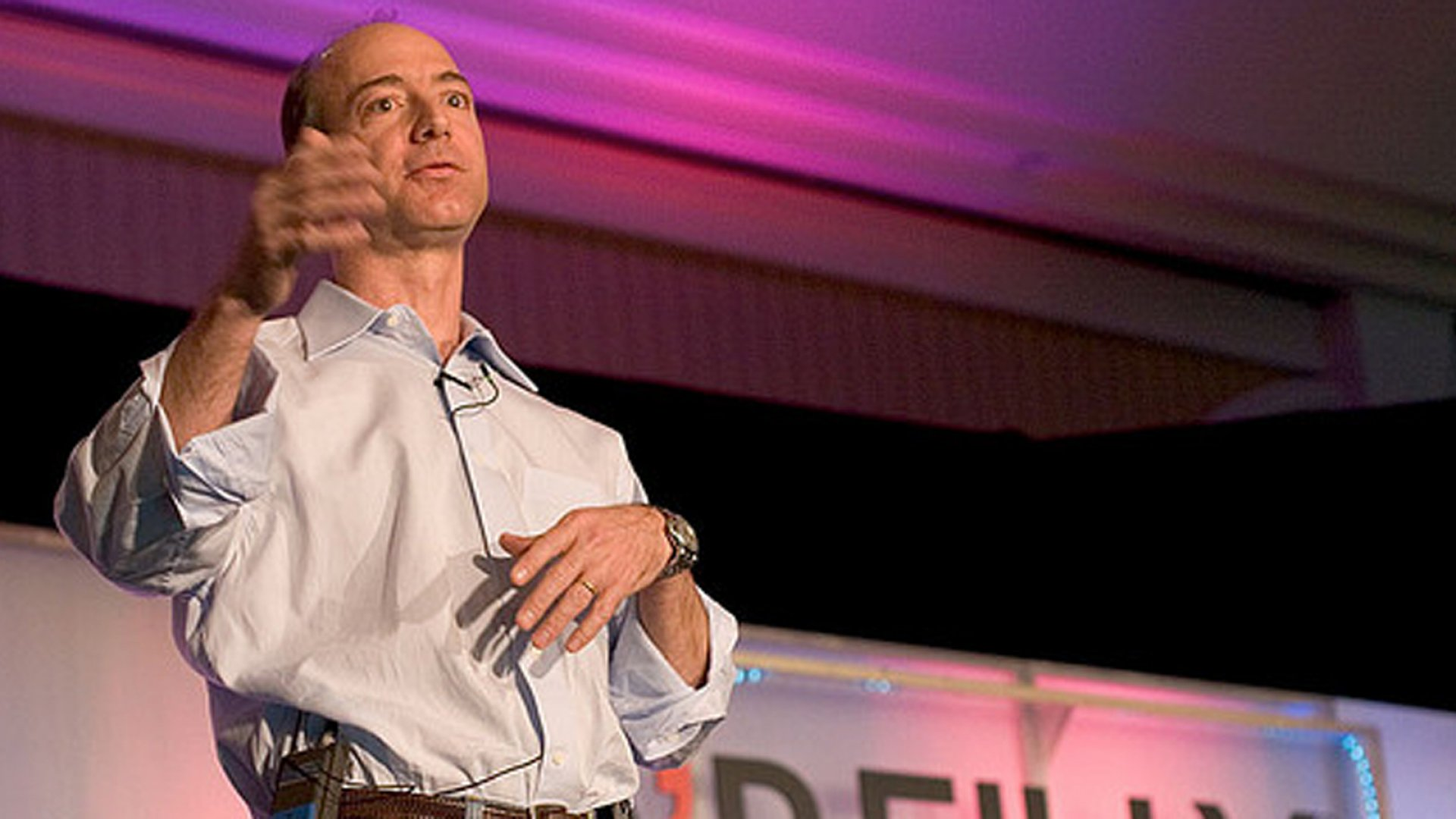 'Follow the Money' and Other Lessons From Jeff Bezos
