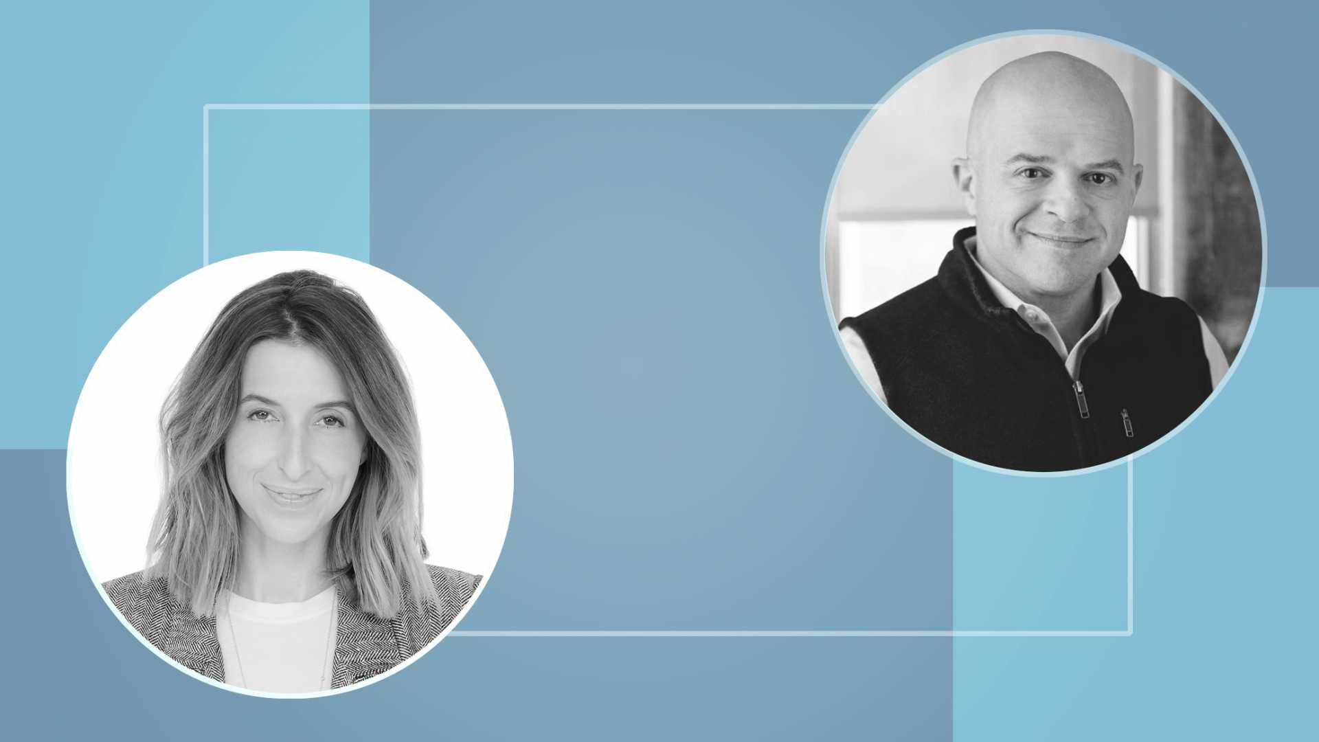 Katia Beauchamp and Jeff Lawson.