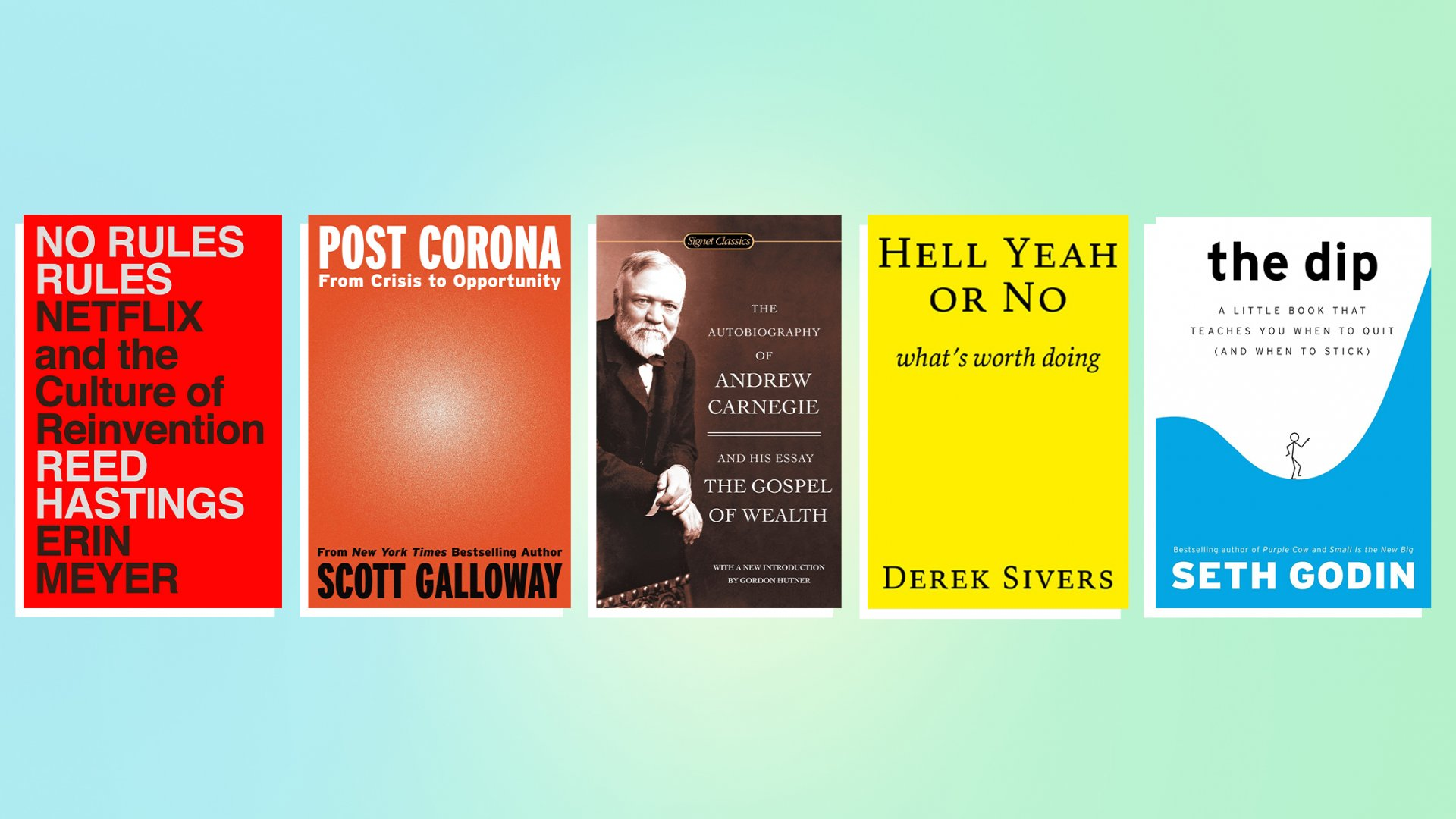 5 Books I'm Recommending Right Now