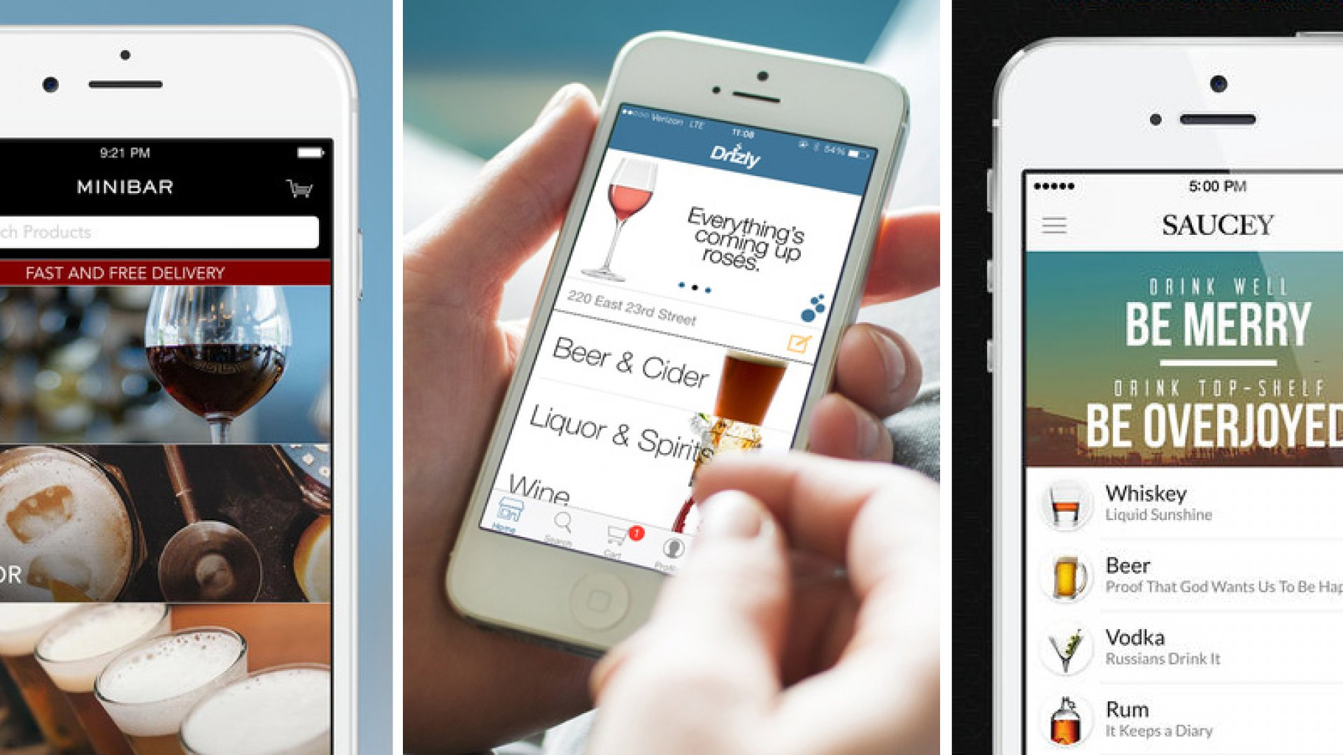 3 Startups Racing to Become the Seamless of Booze