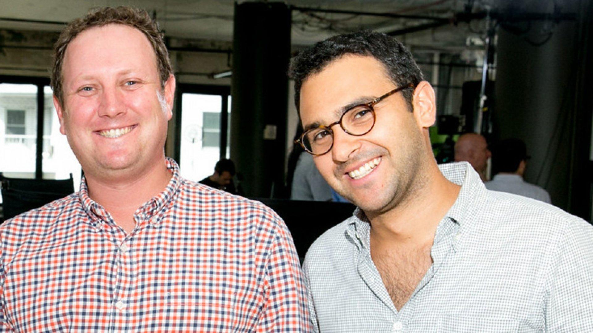 Brat co-founders Darren Lachtman (left) and Rob Fishman.