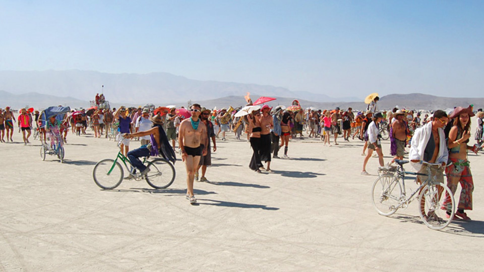 Startup Founders Prepping Wacky Projects for Burning Man