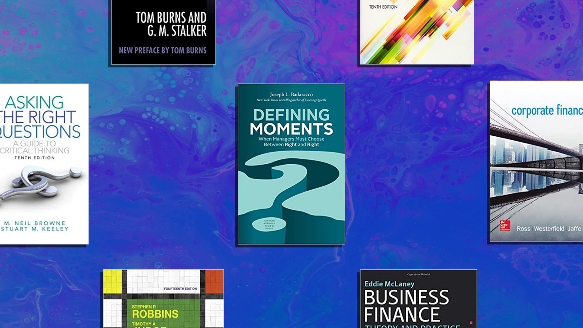 The Top 10 Most Assigned Books at Ivy League Business Schools