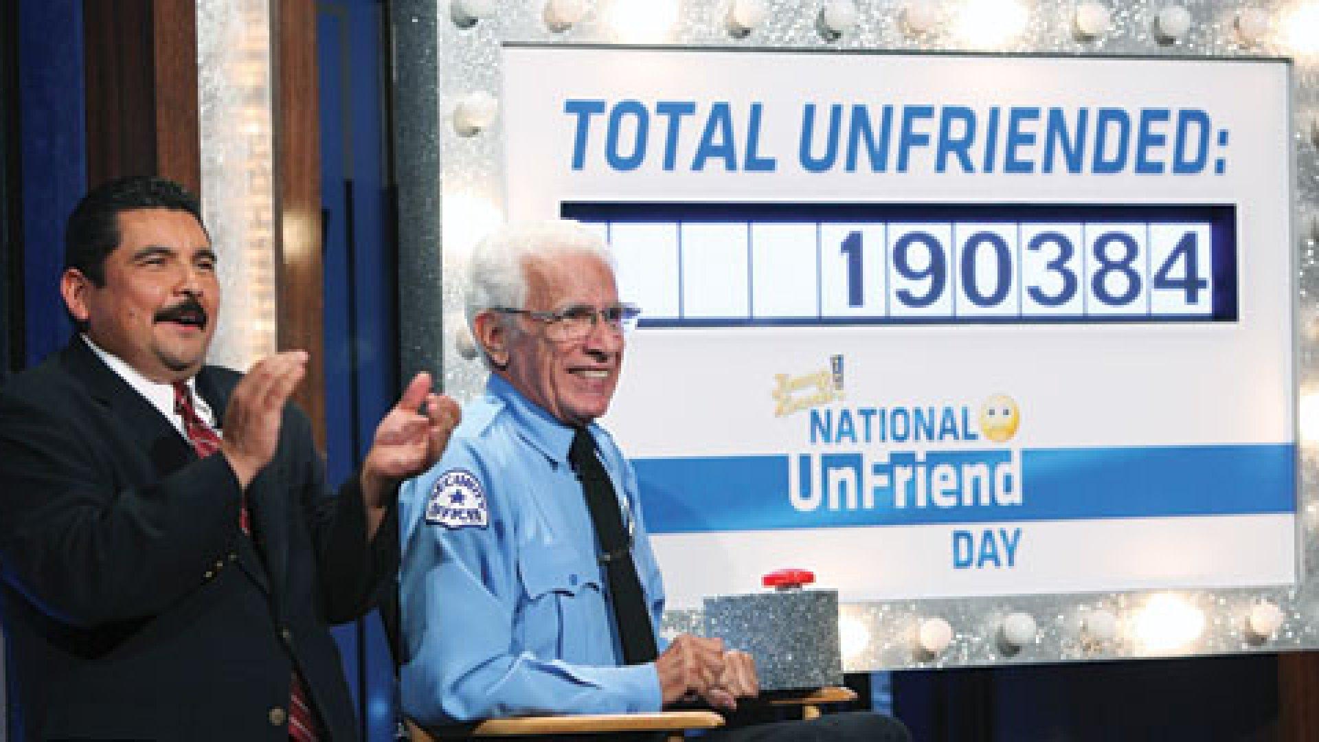 Jimmy Kimmel proclaimed November 17th as National Unfriend Day.