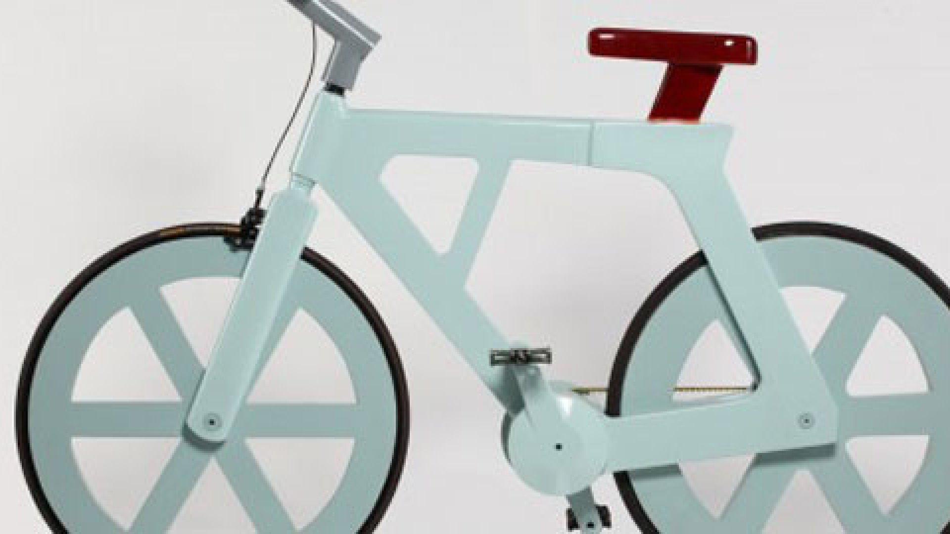 Cool Aha Moment: The Cardboard Bicycle