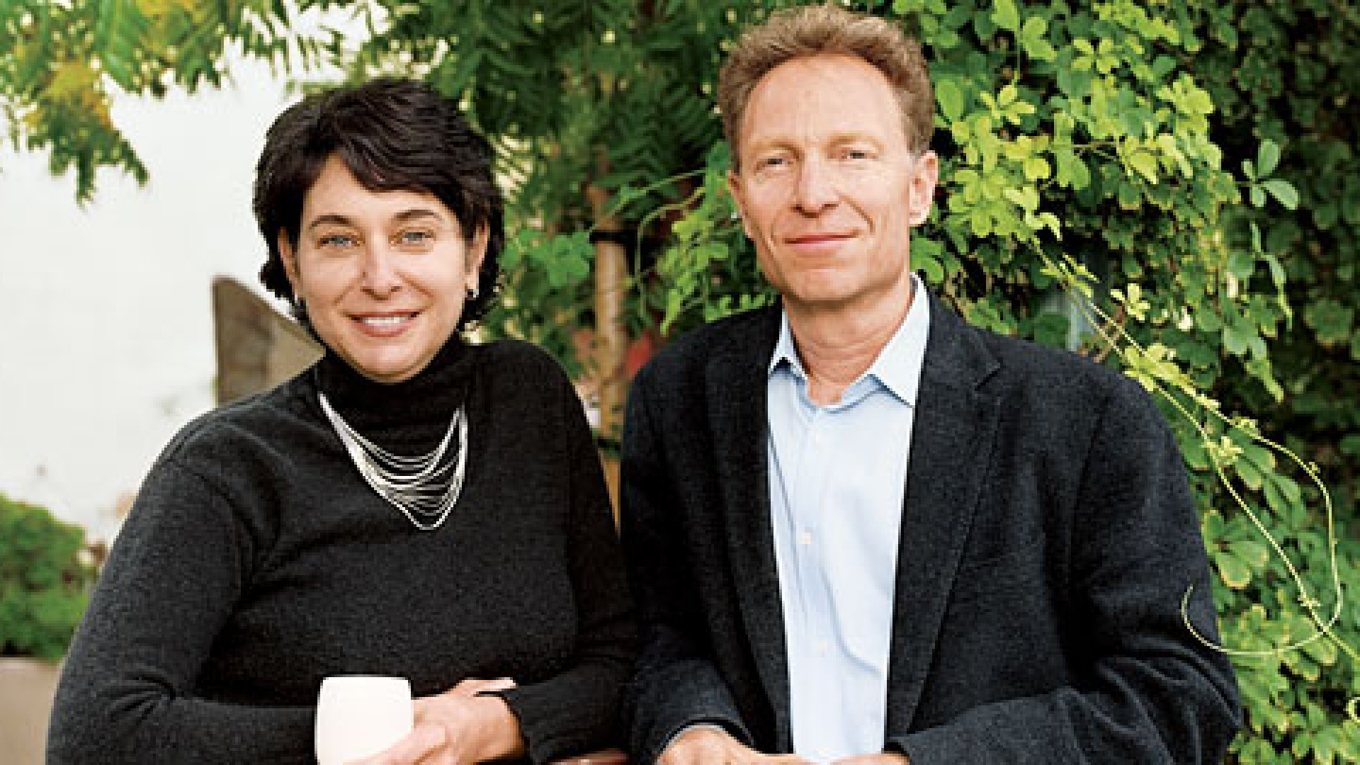 <strong>BALANCING ACTS</strong> Jill Portman and Gary Shinner weighed their tea's elite image against the mass-market sales.