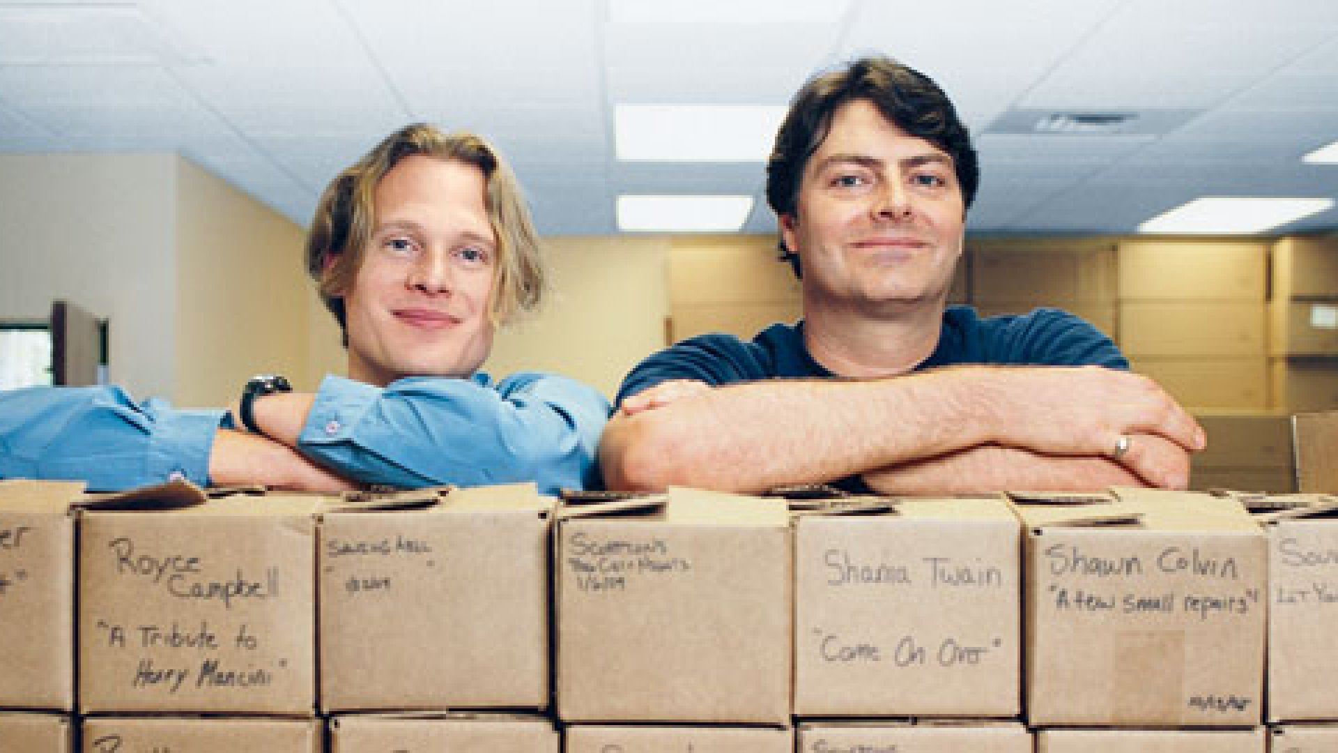 <strong>FRESH EYES</strong> Founder Kent Wagner (right) looked to marketing director Clayton Woodson, a former yoga instructor, for new ideas.