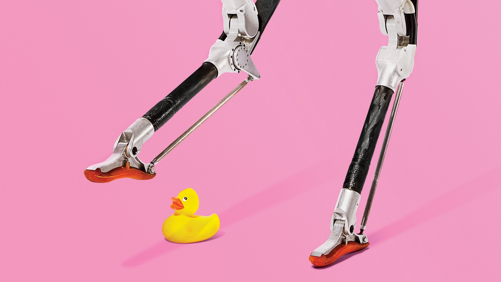 This Ostrich-Legged Robot May Be Your Next Pizza Delivery Guy